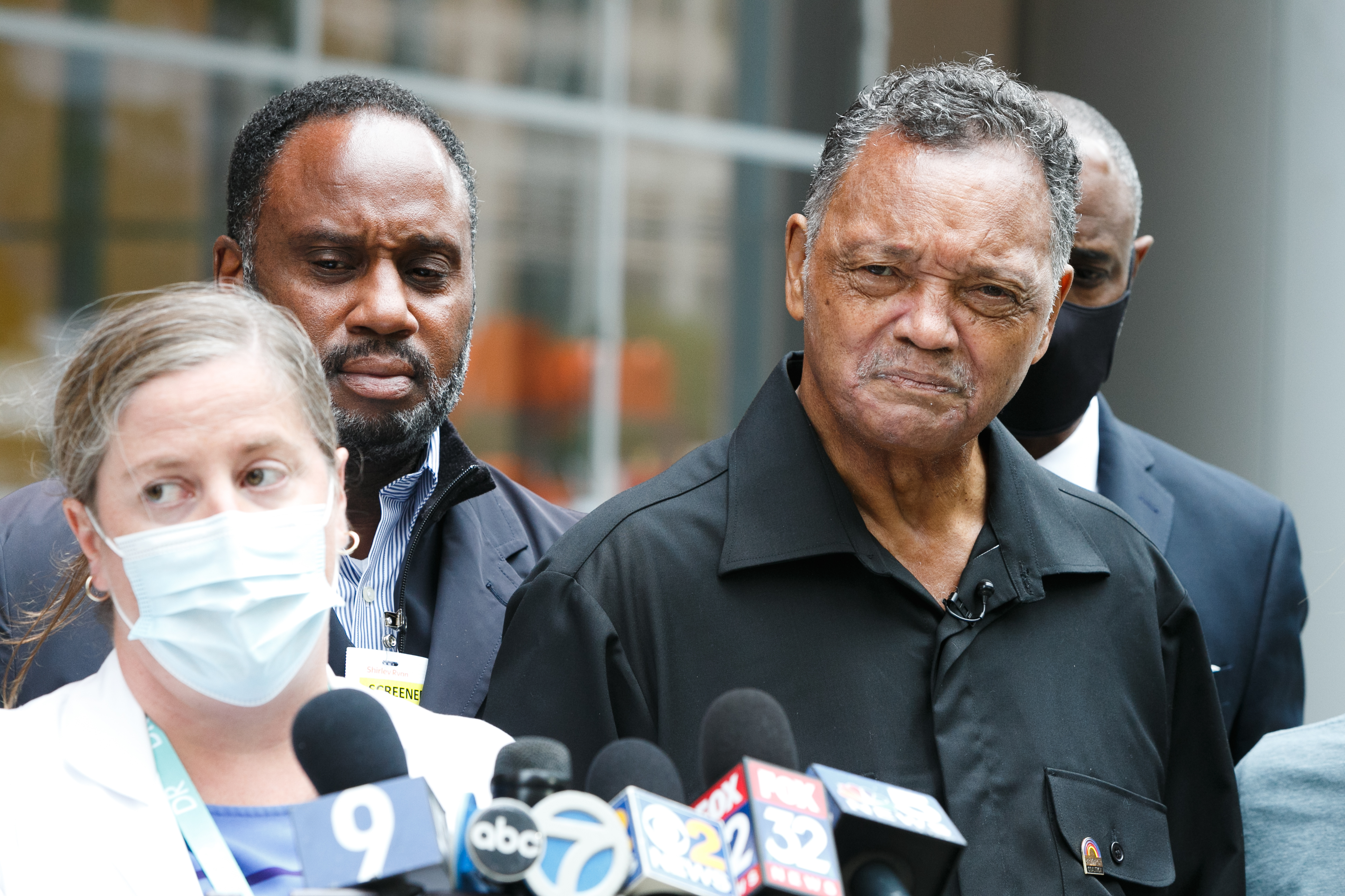 Rev. Jesse L. Jackson Sr. was discharged Wednesday from the Shirley Ryan AbilityLab.