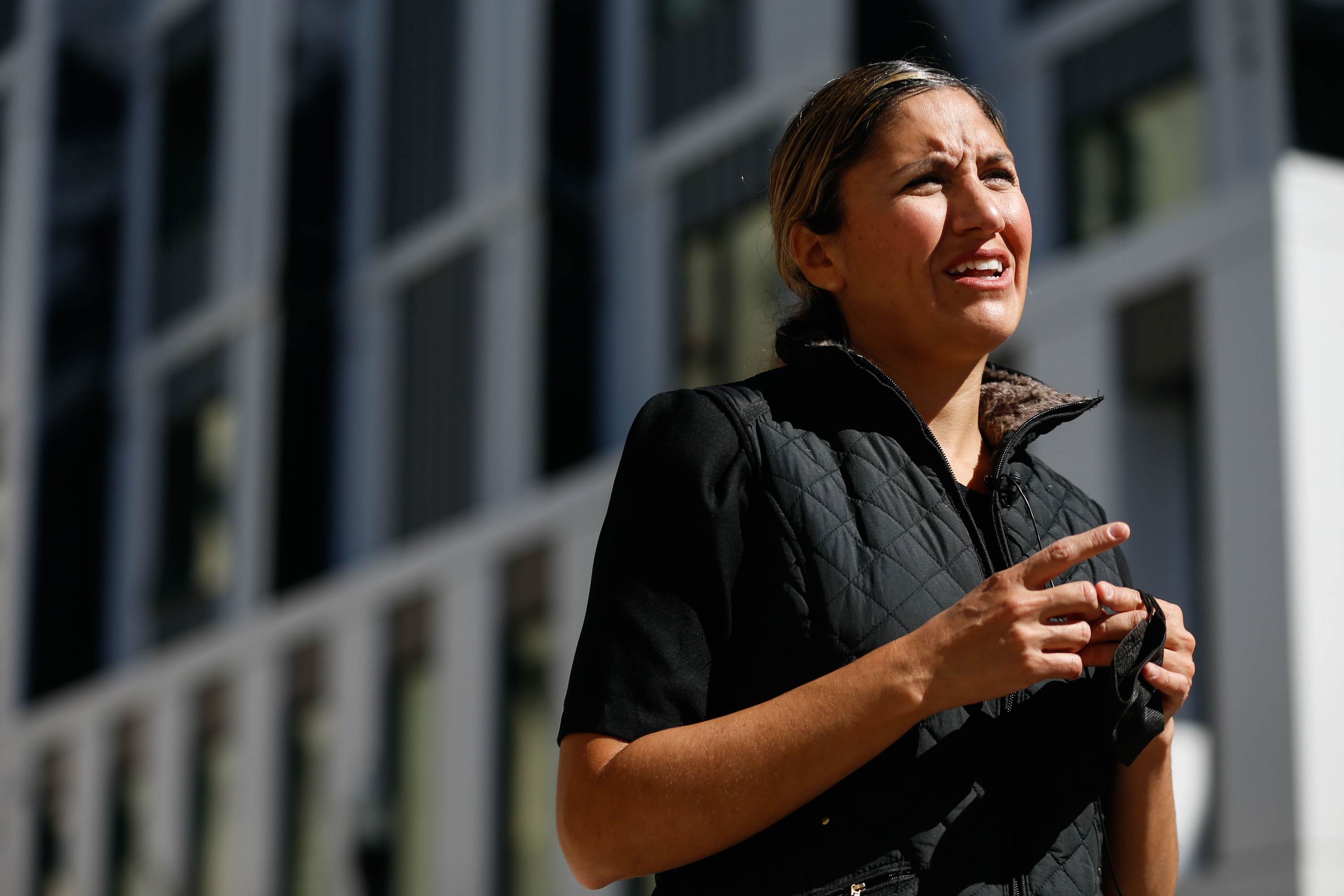 Ana Valdemoros discusses a notice of funding availability for the development of affordable housing in Salt Lake City.