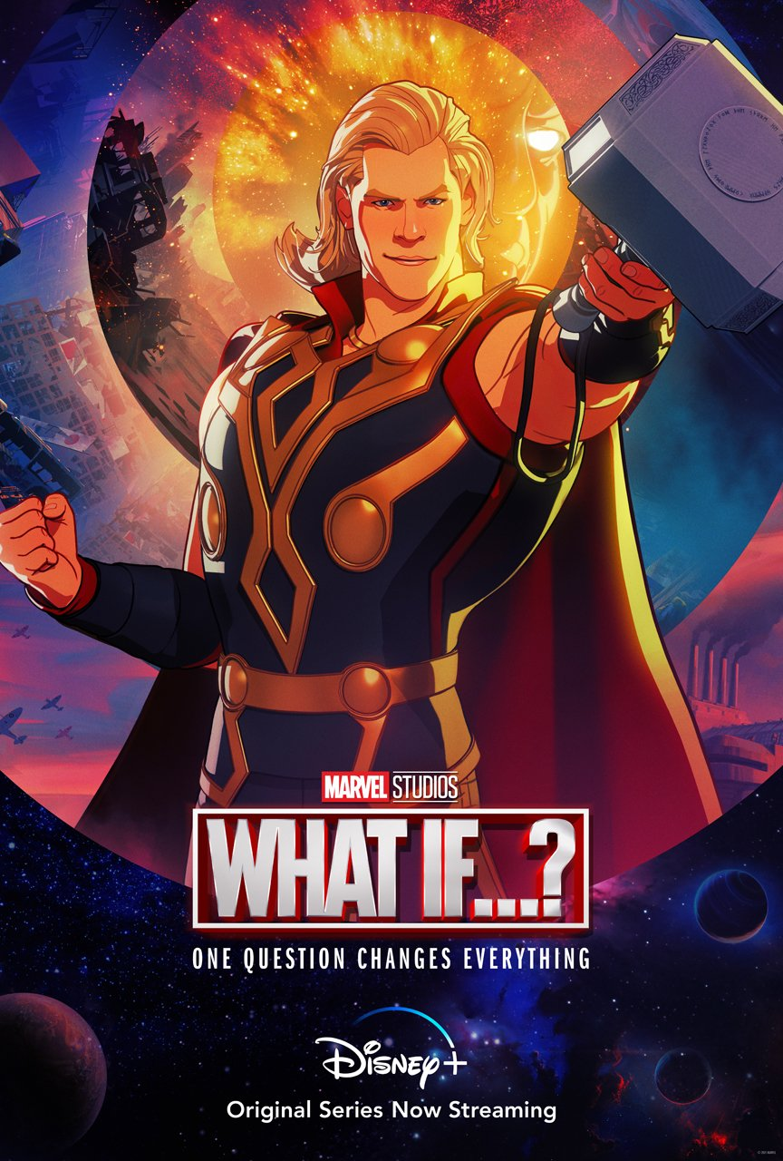 """Marvel Studios released a poster of Thor """"What If... Thor Were an Only Child?"""""""
