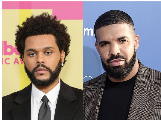 The Weeknd, Drake