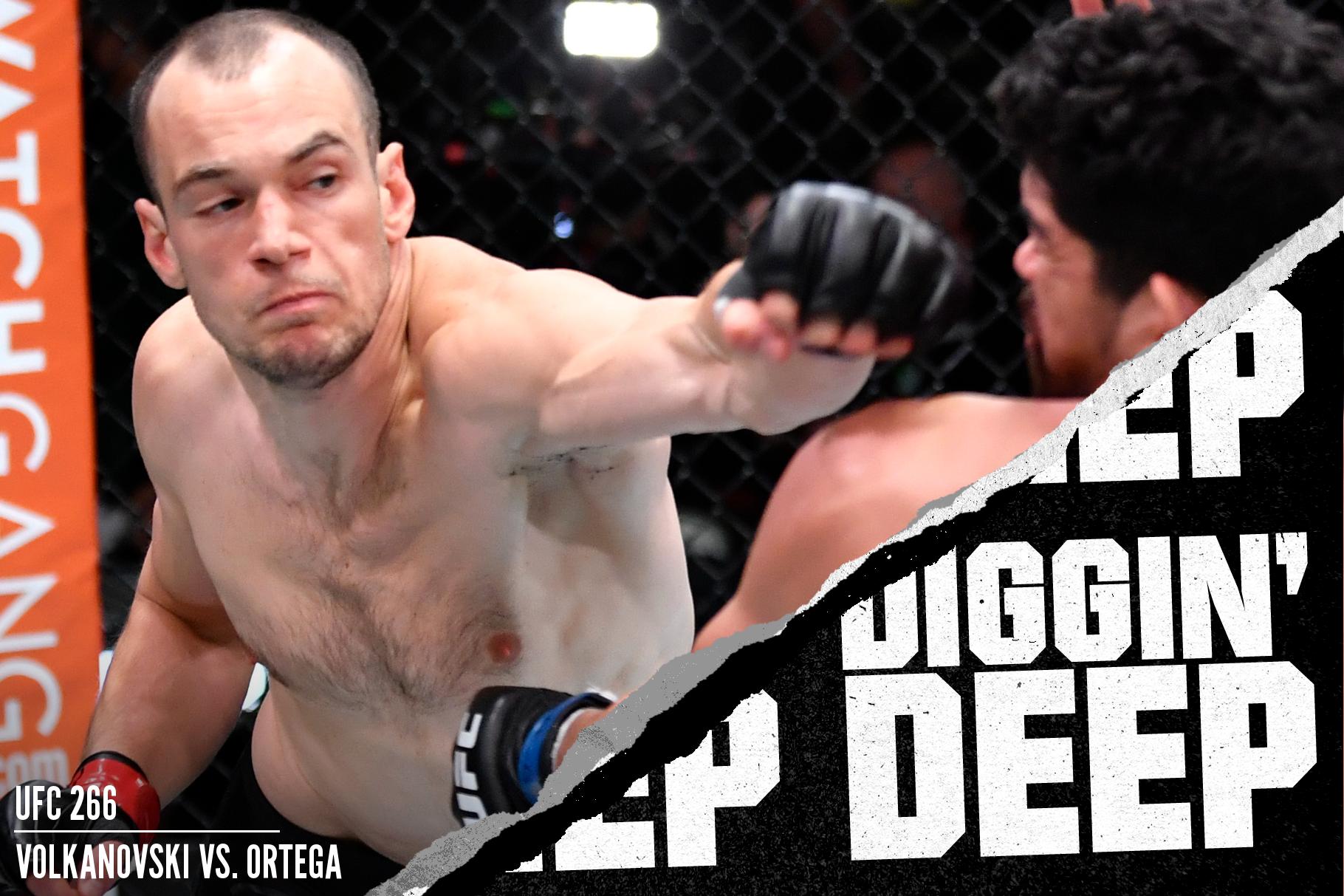 Uros Medic fighting Aalon Cruz at UFC 259