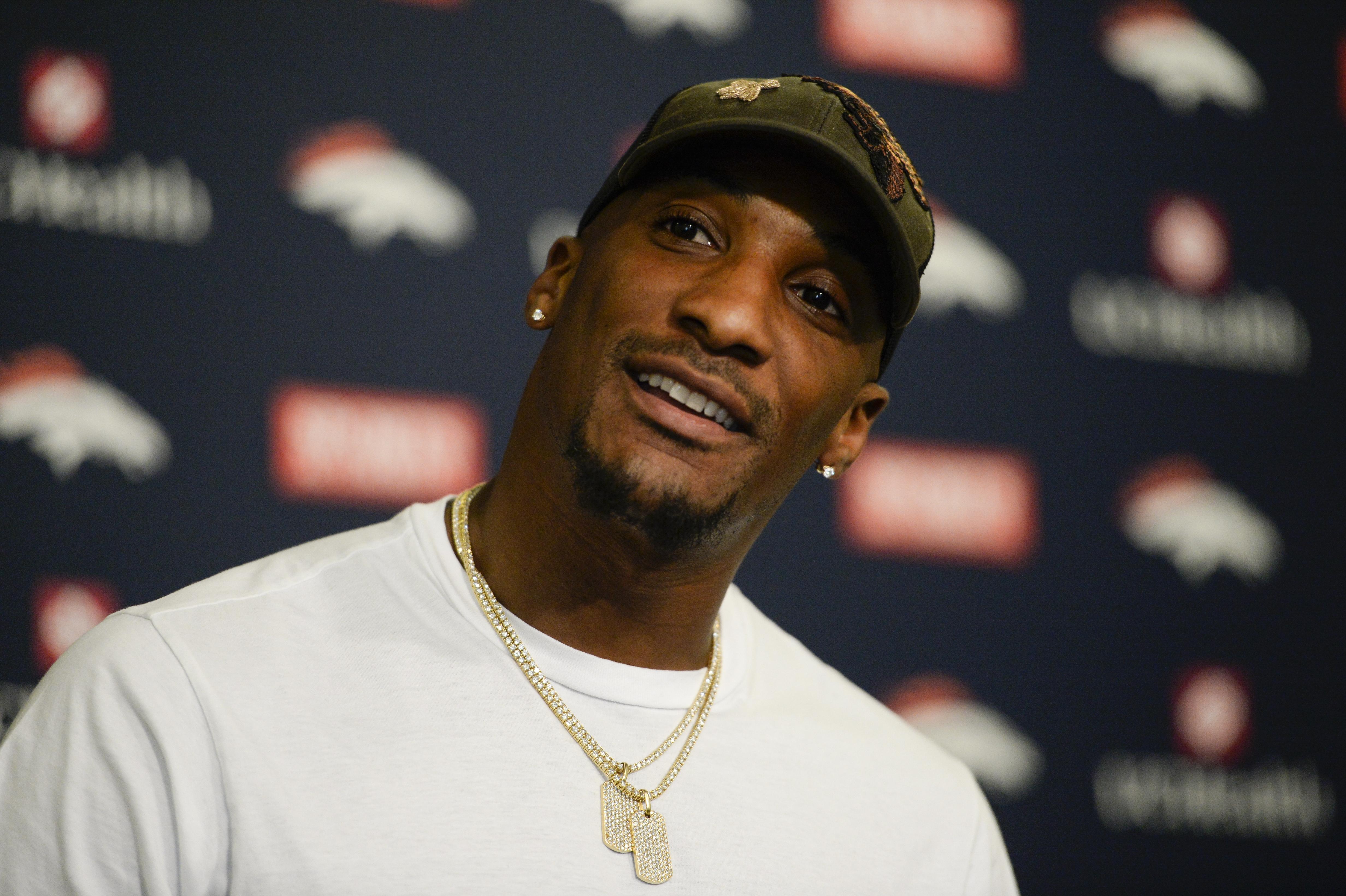 Denver Broncos press conference at UCHealth Training Center