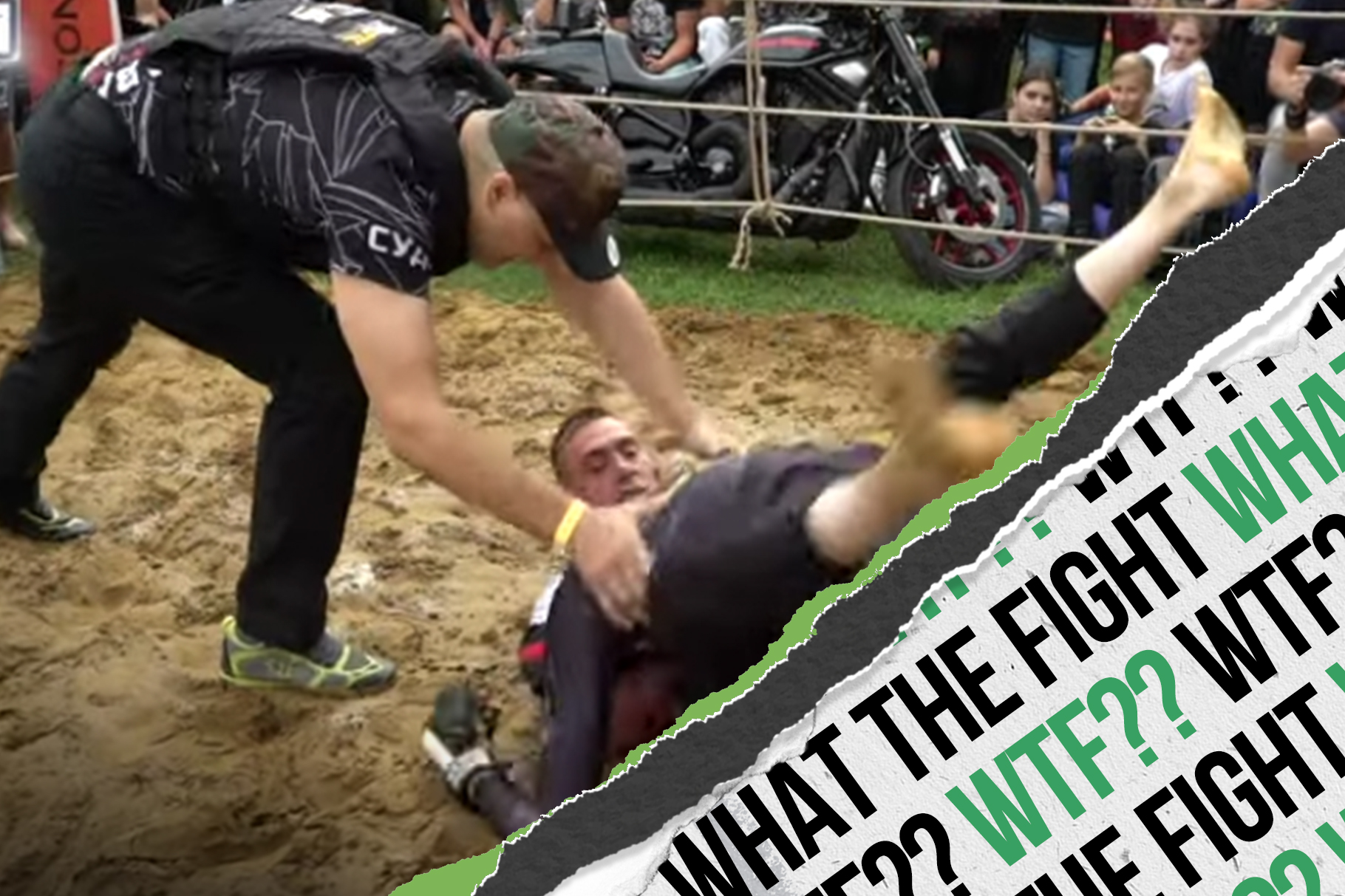 WTF? Jeet Kune Do mishaps and refs in bullet-proof vests