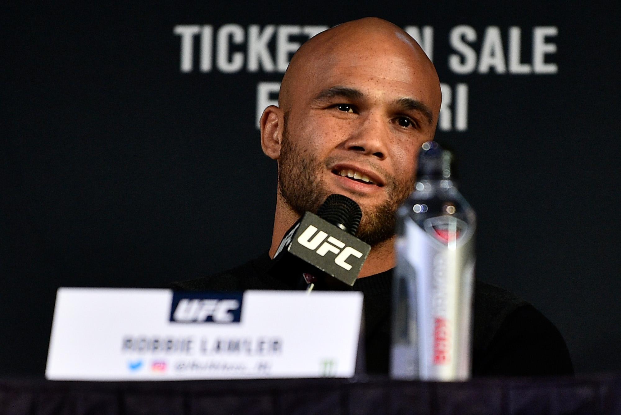 UFC 235: Press Conference