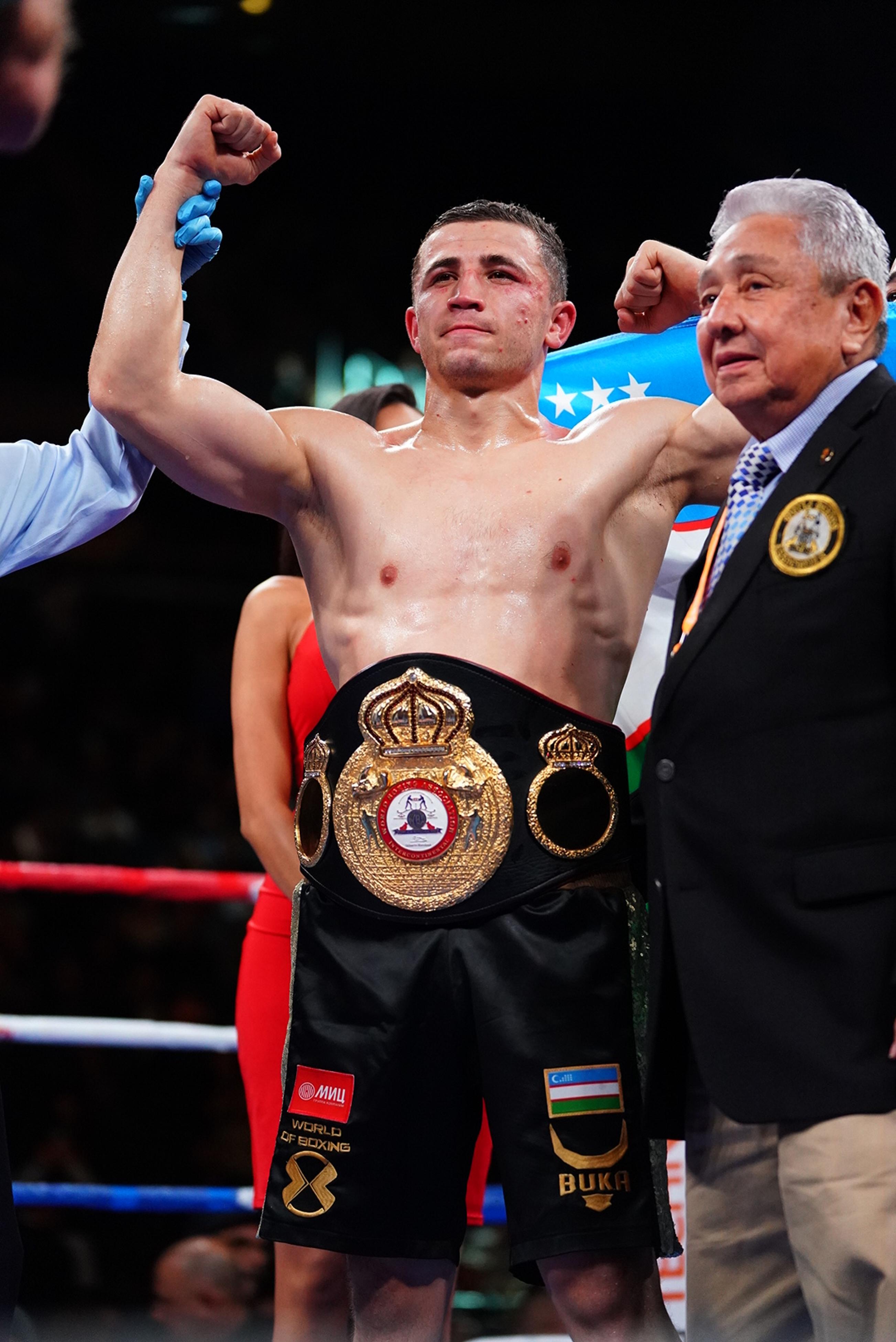 Israil Madrimov vs Alejandro Barrera, WBA Inter-Continental Super Welterweight Title
