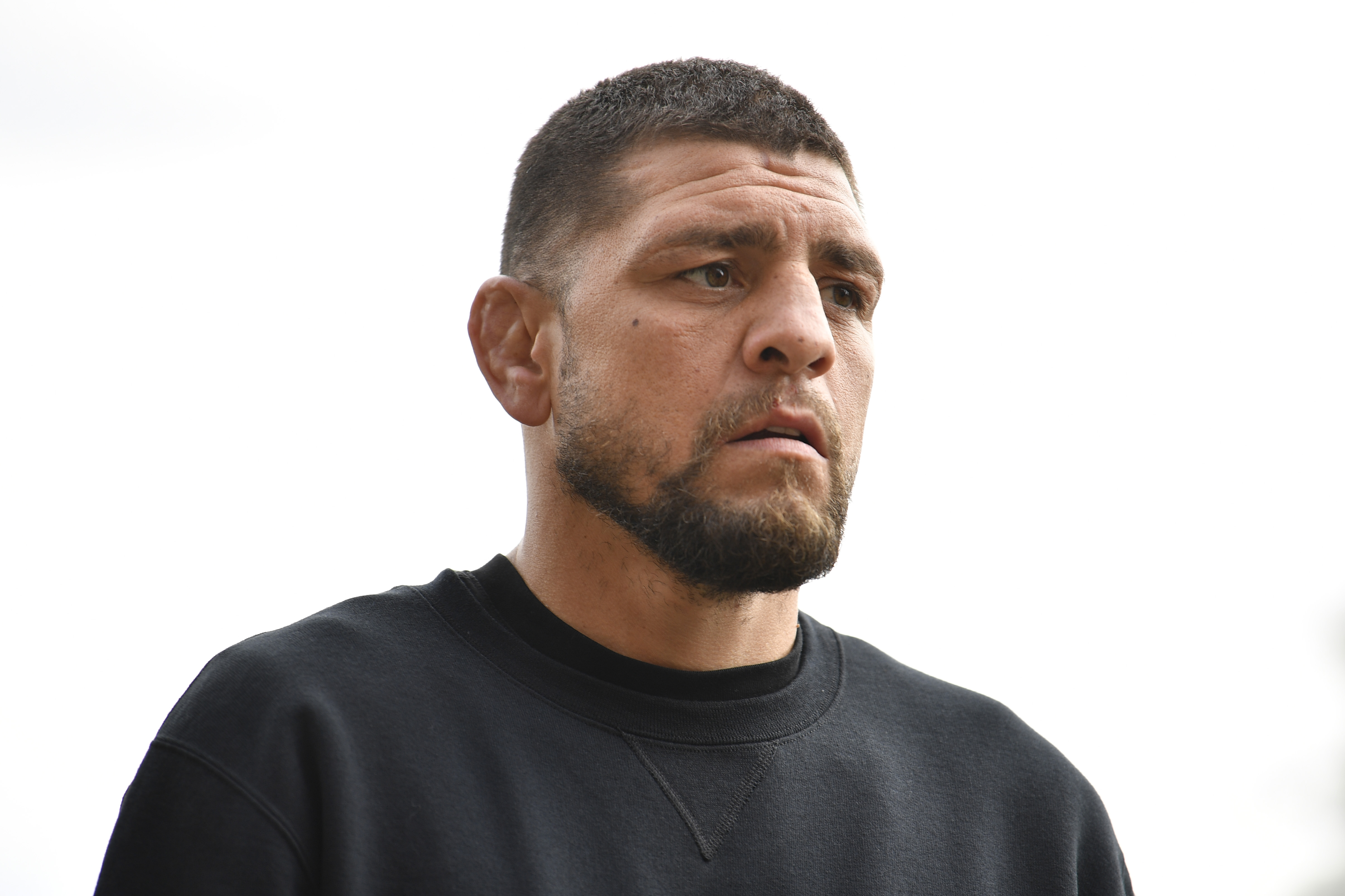 Nick Diaz speaks openly about his struggles in his chosen profession.