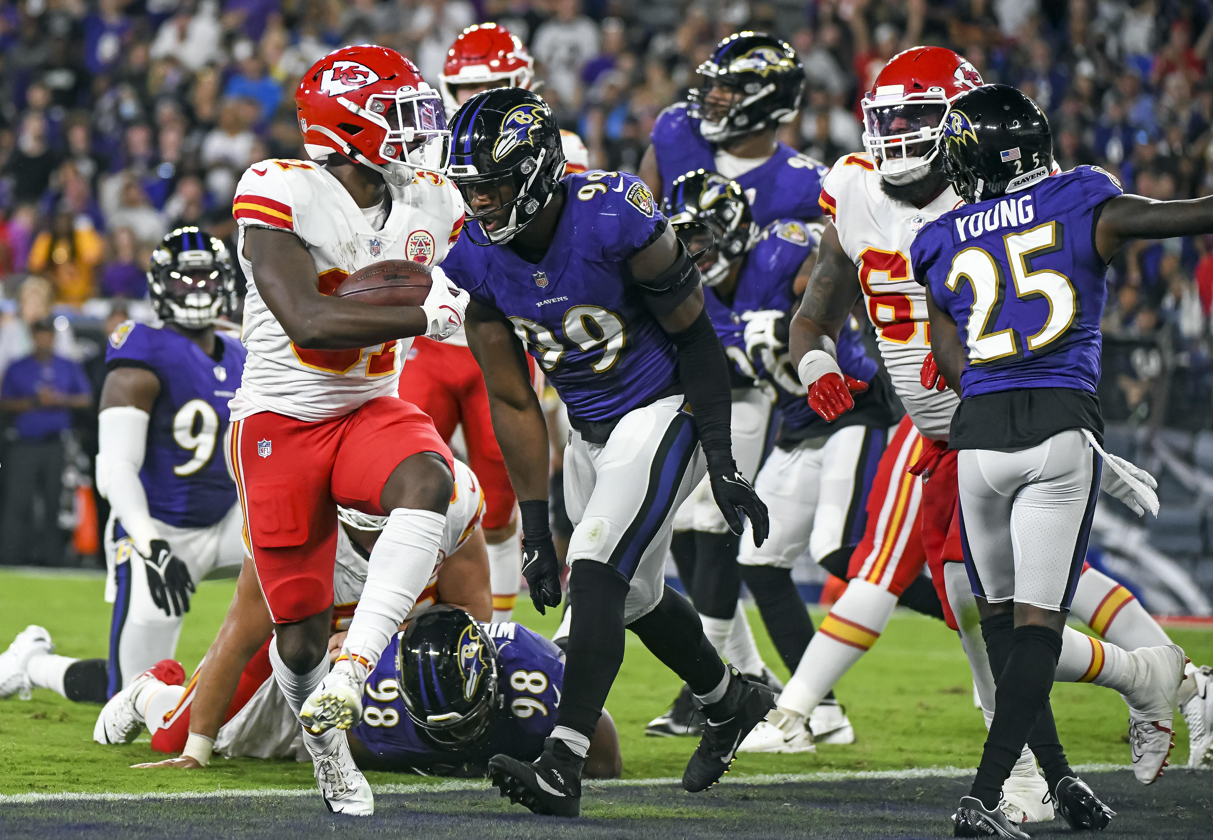 NFL: SEP 19 Chiefs at Ravens