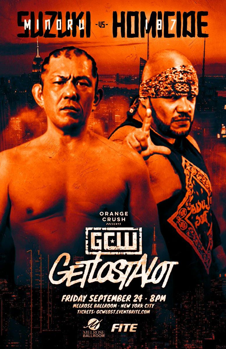 Poster for GCW Getslostalot