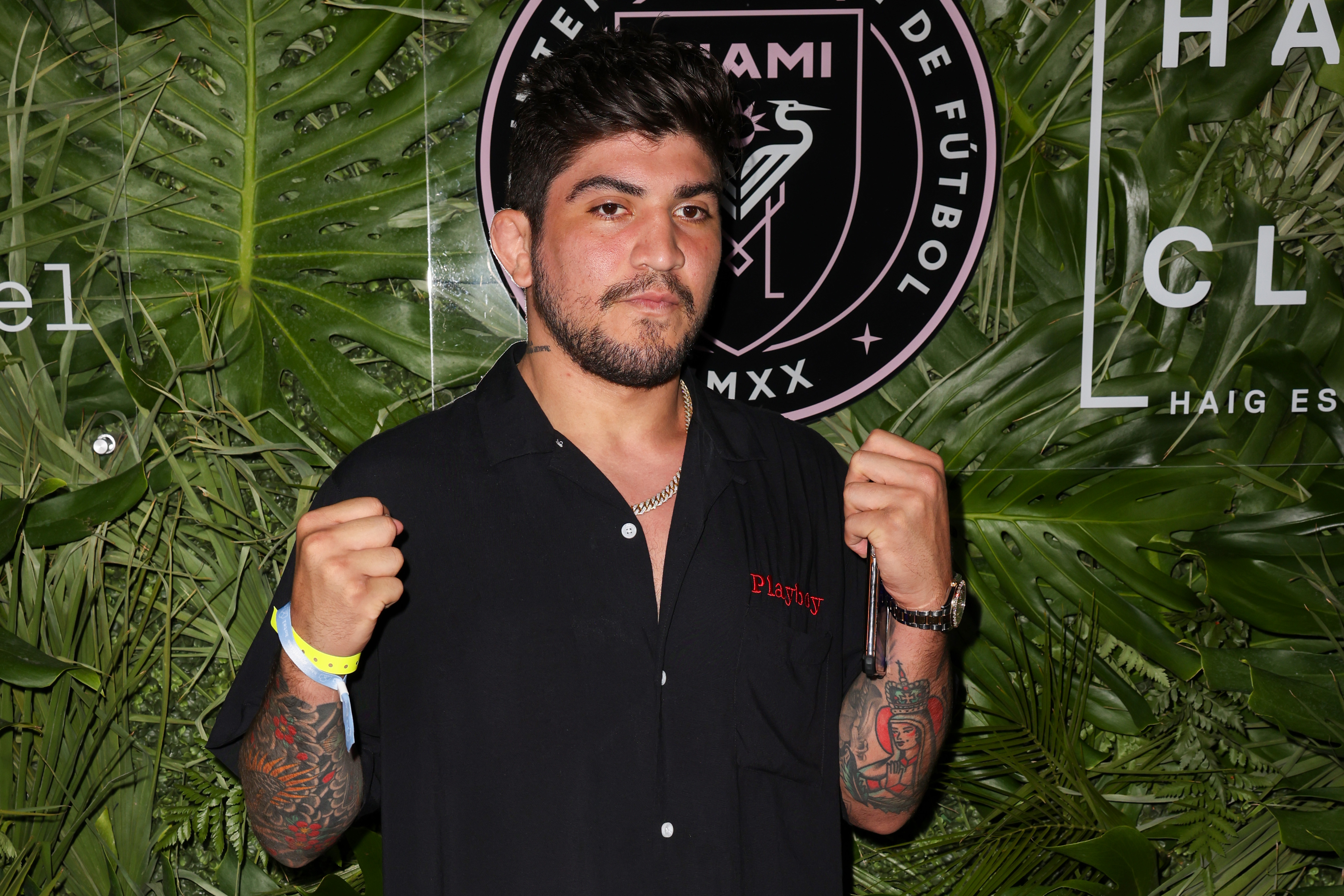 Dillon Danis - Inter Miami CF Season Opening Party Hosted By David Grutman And Pharrell Williams