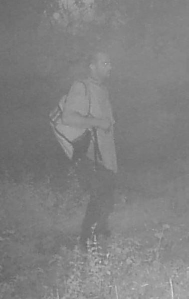 The Okaloosa County Sheriff's Officein Florida said Brian Laundrie was not spotted through grainy camera footage.