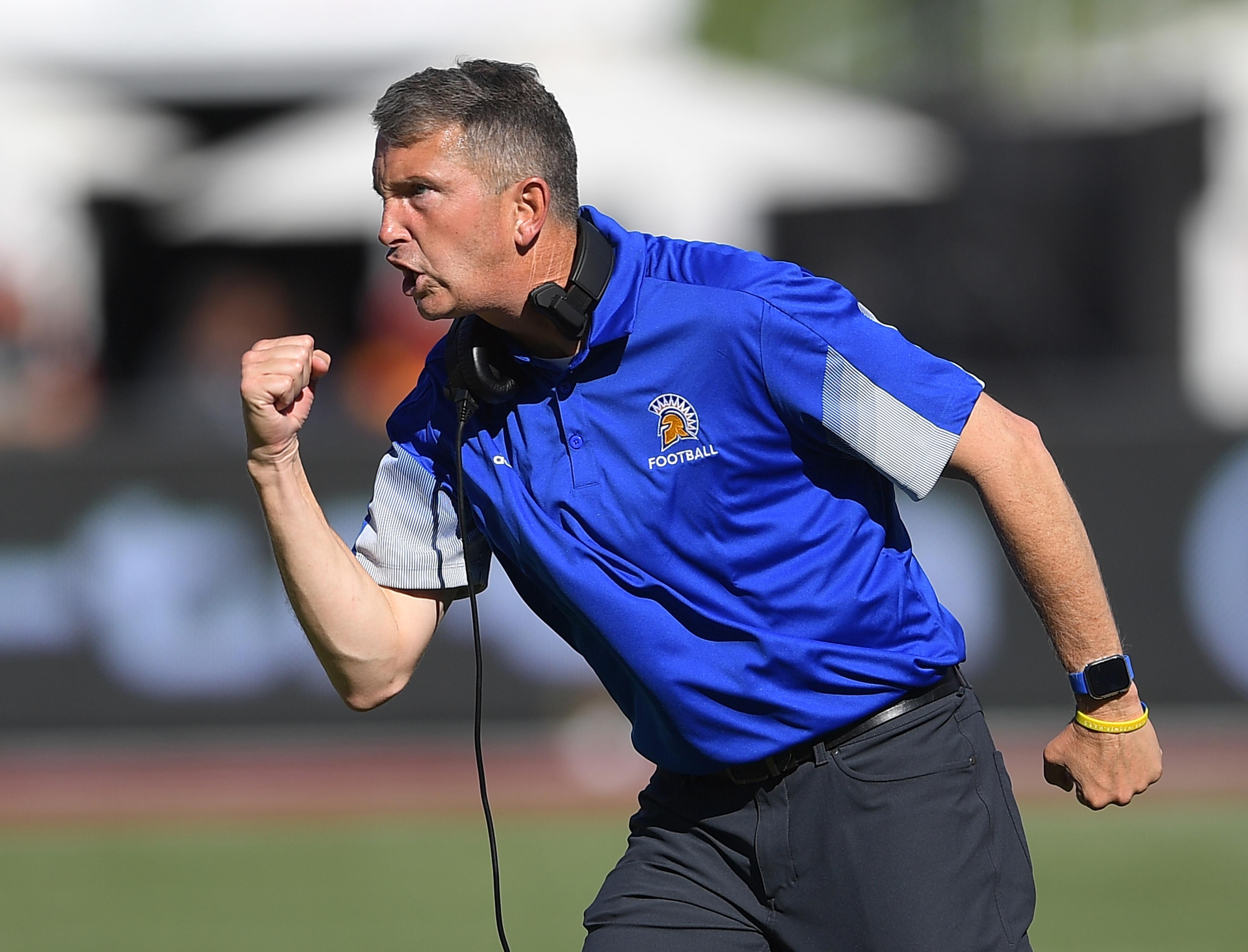NCAA Football: San Jose State at Southern California