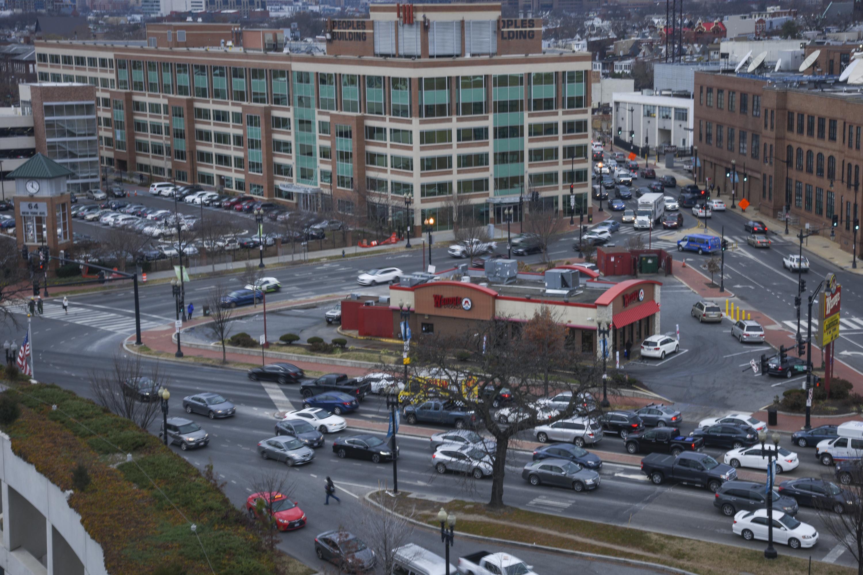 DC's Dave Thomas Circle - The Intersection at Florida and New York Avenues NE