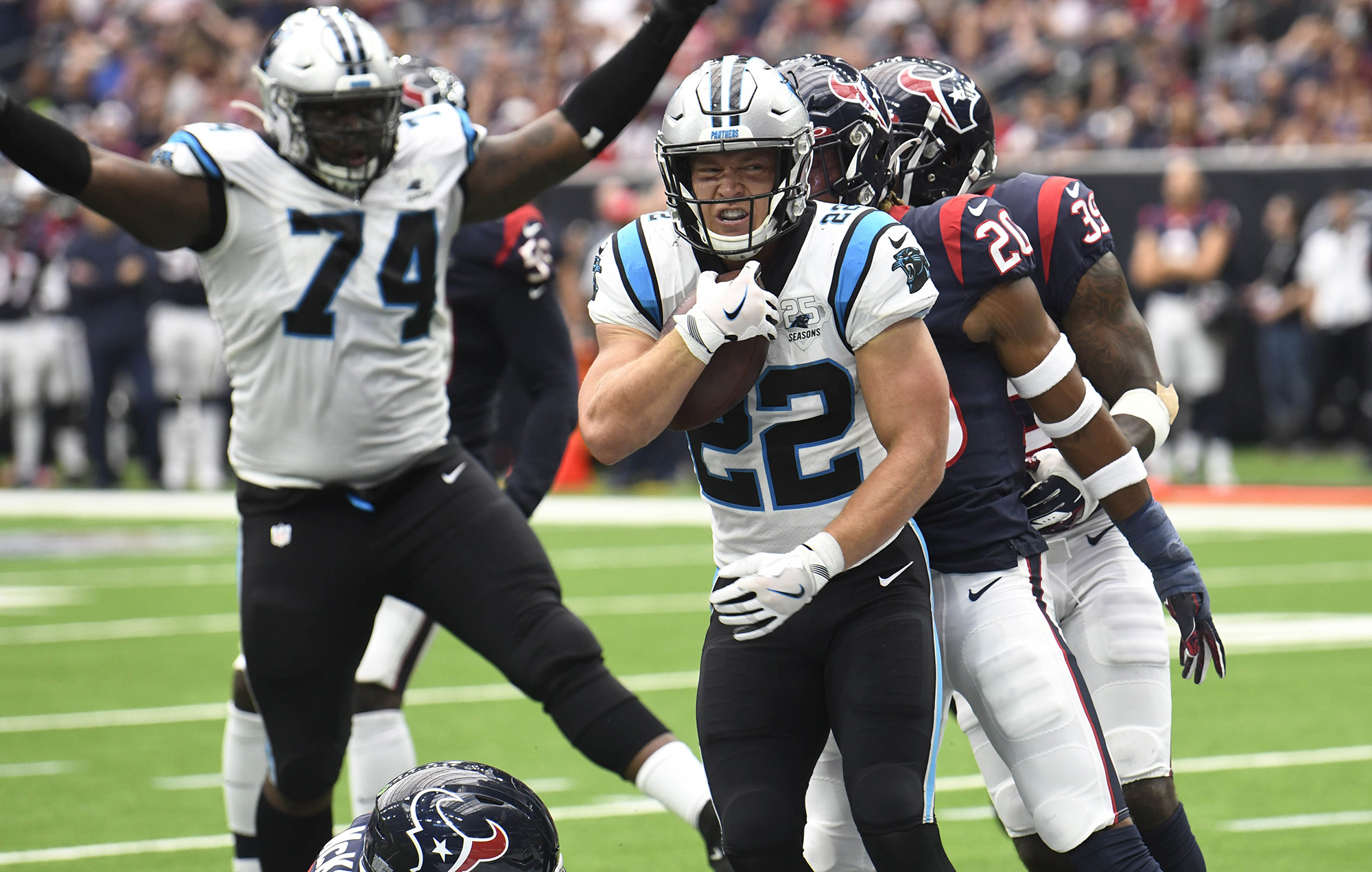 How Panthers running back Christian McCaffrey can handle the NFLs heaviest workload