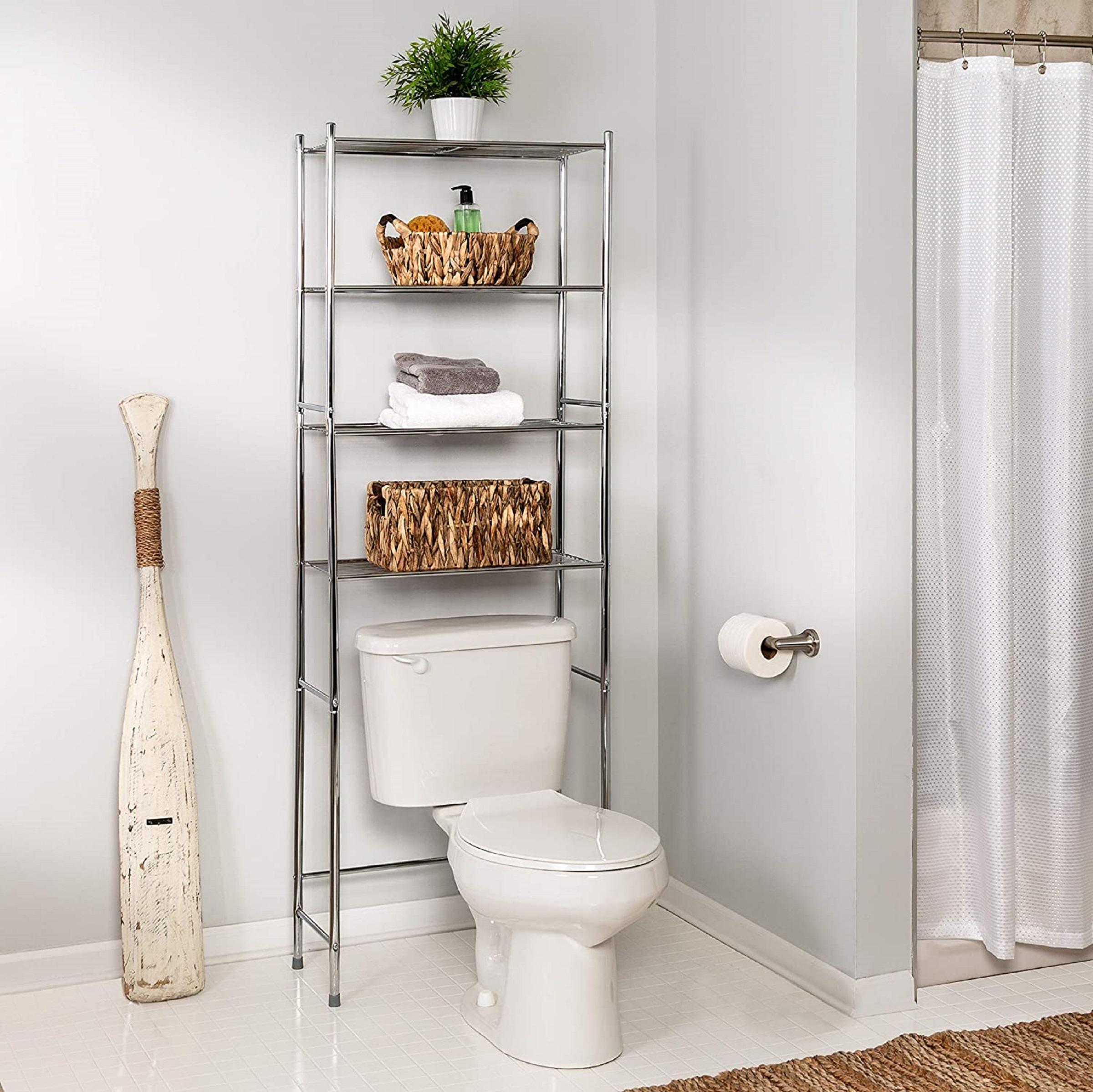 Over-Toilet Bathroom Organizer