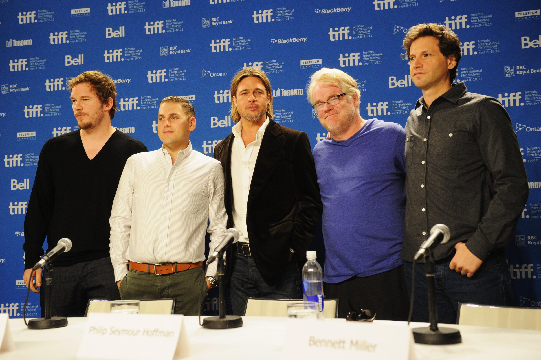 """Moneyball"" Press Conference - 2011 Toronto International Film Festival"