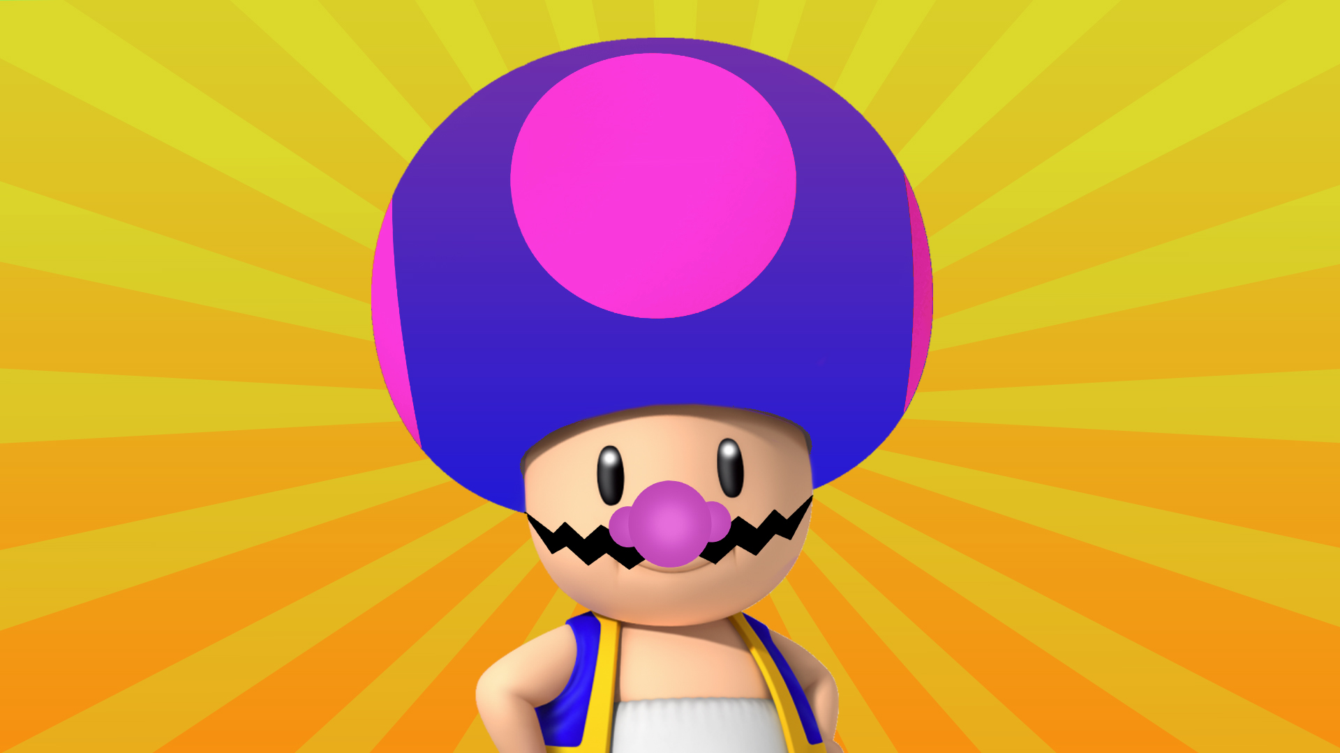 Wario, but Toad