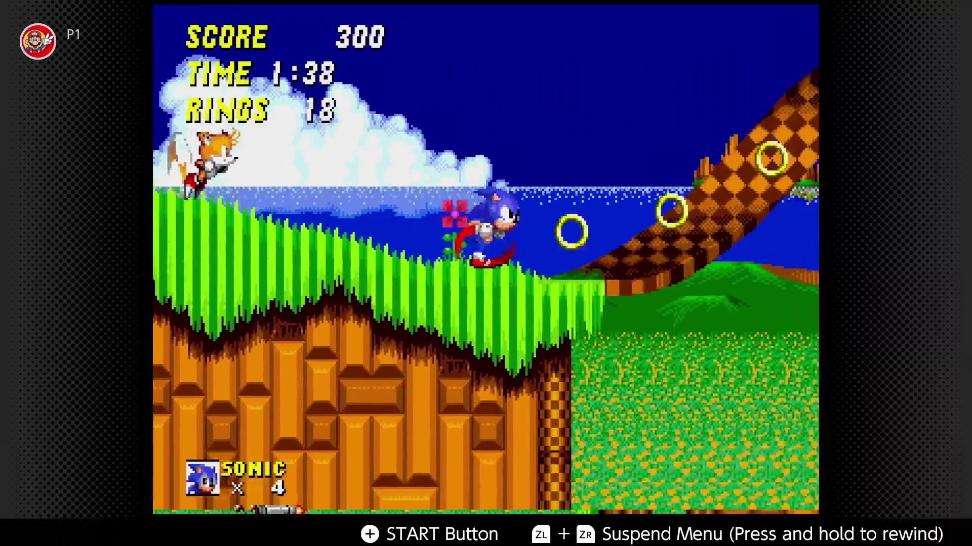 Sonic the Hedgehog 2 on Nintendo Switch