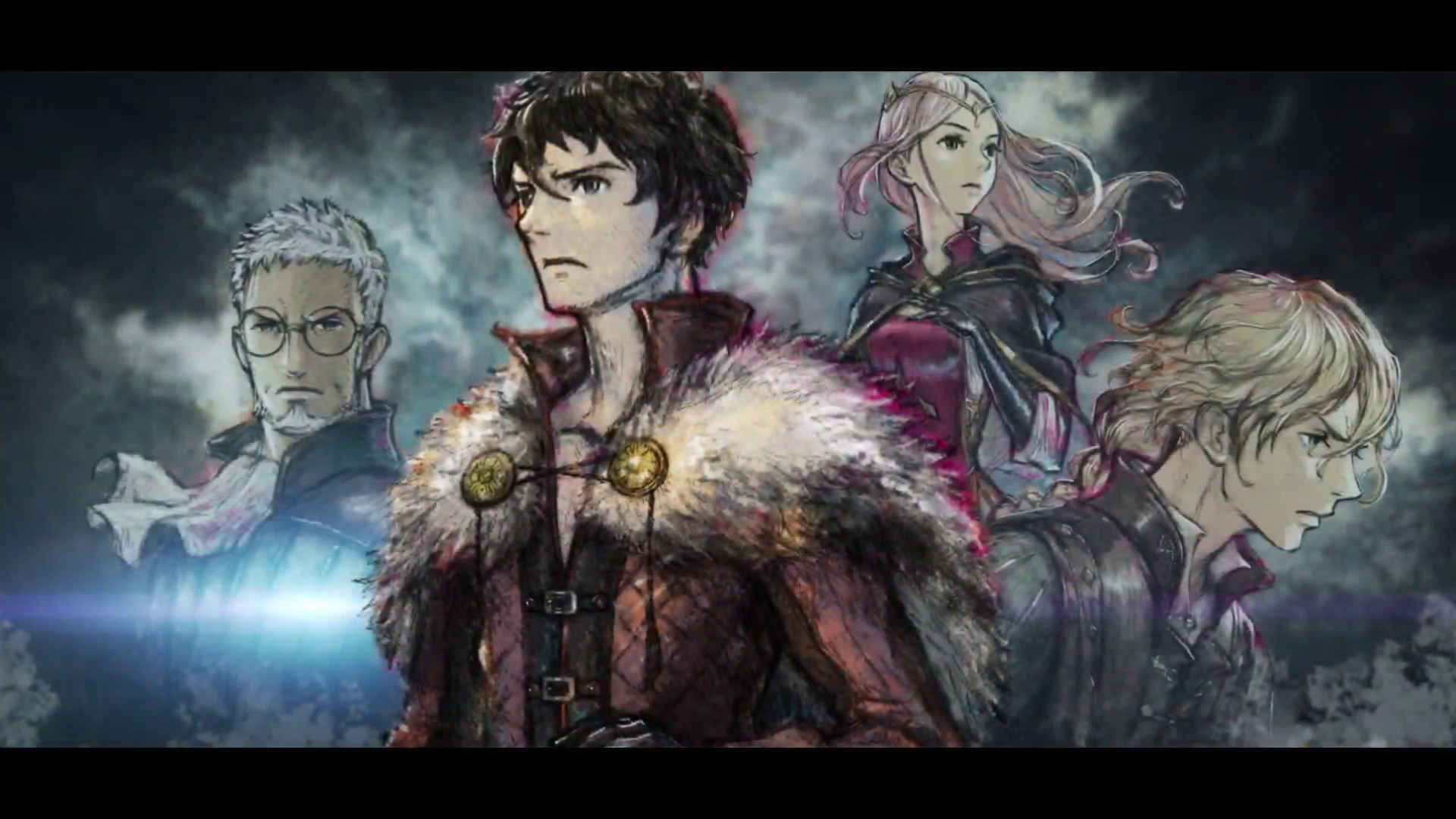 artwork of characters from Project Triangle Strategy
