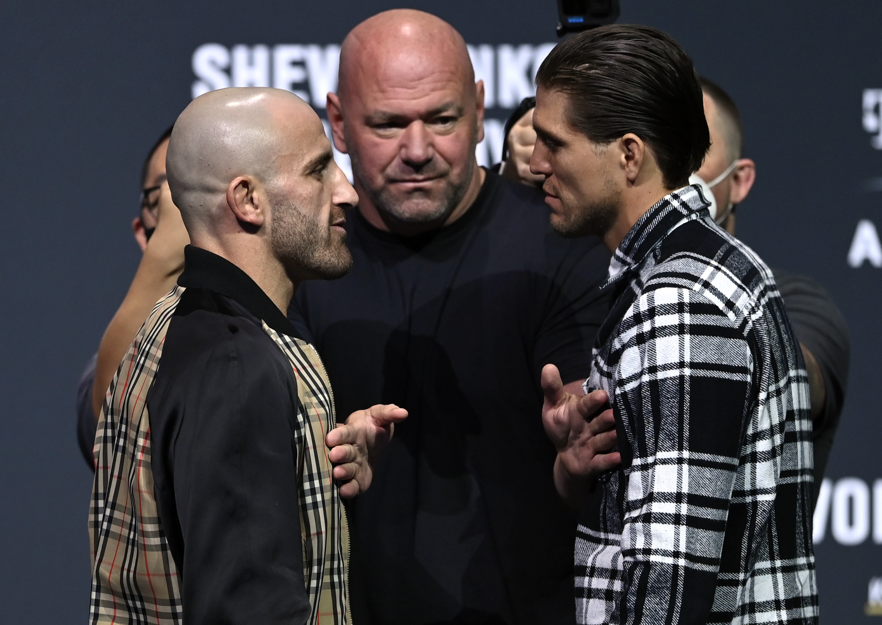 UFC 266 Press Conference