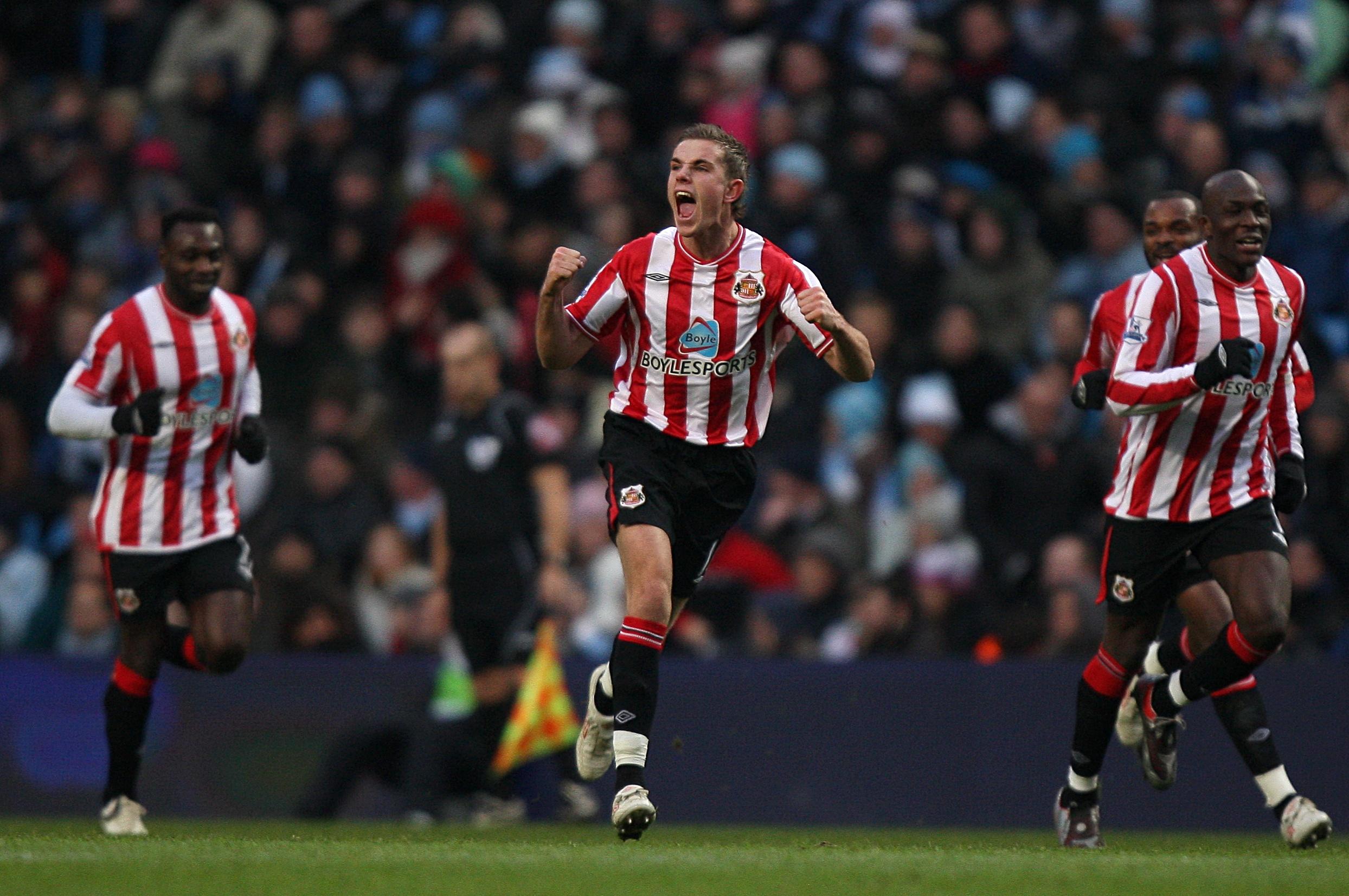 Soccer - Barclays Premier League - Manchester City v Sunderland - City of Manchester Stadium