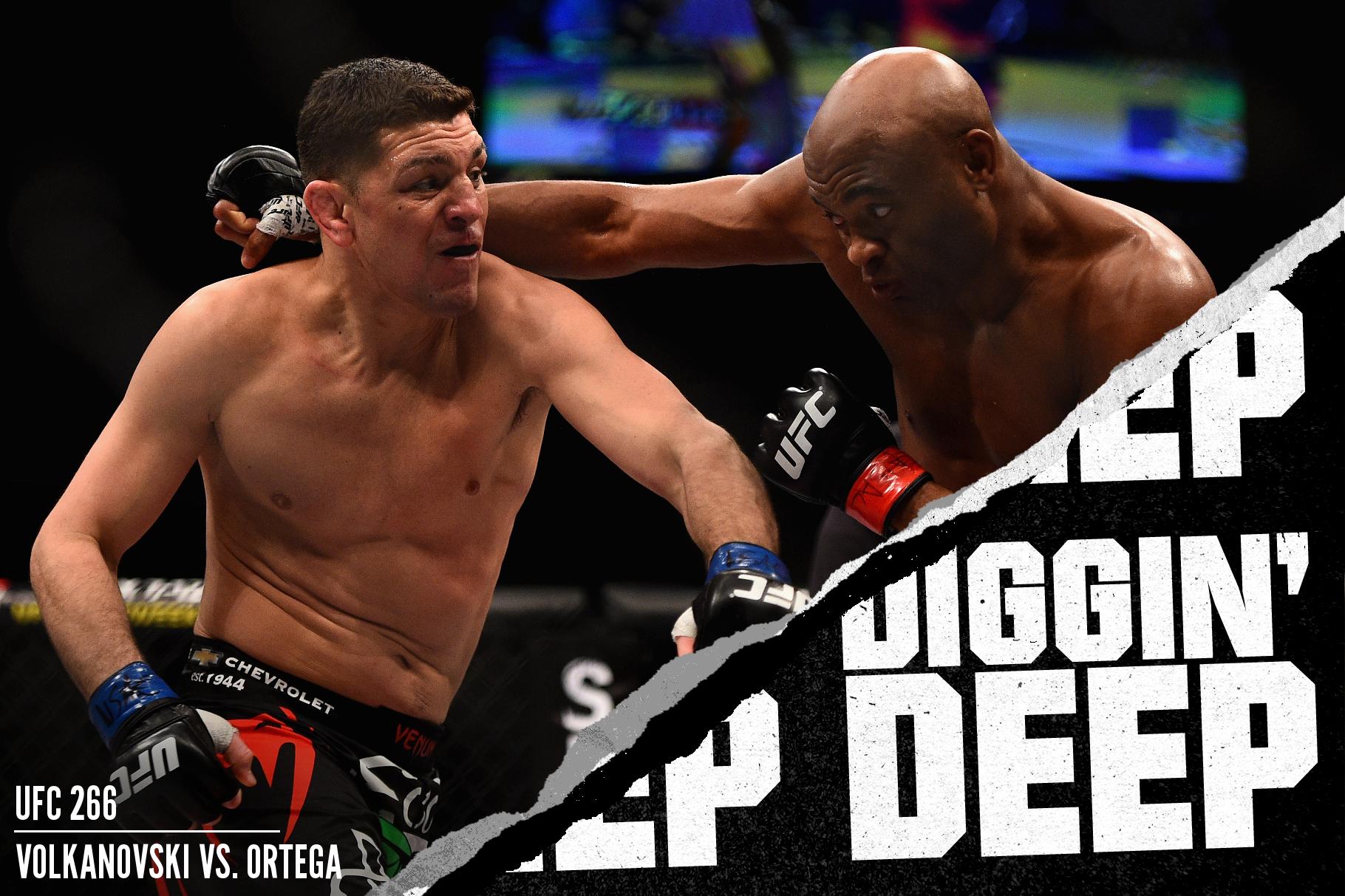 Nick Diaz fighting Anderson Silva at UFC 183