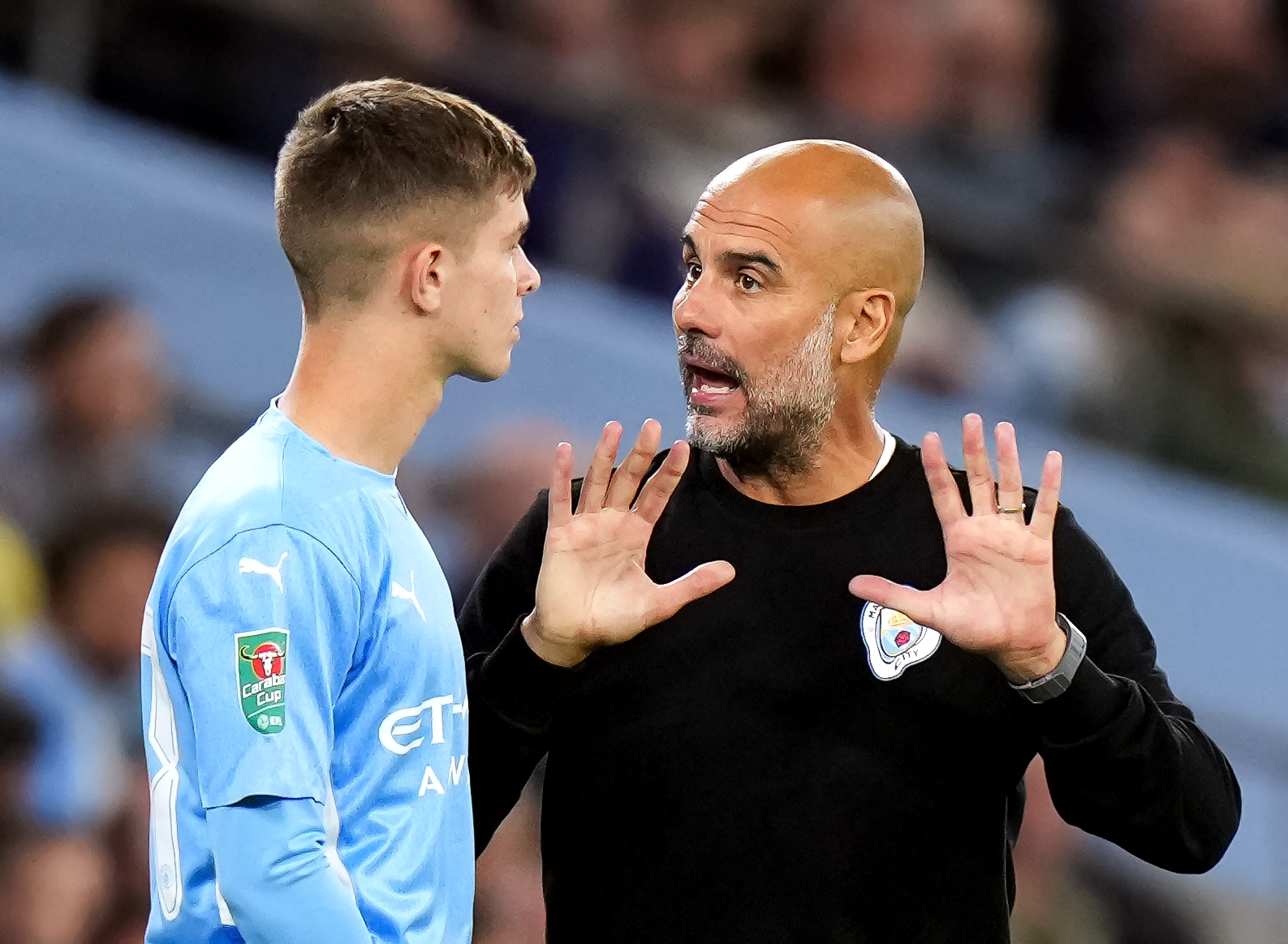 Manchester City v Wycombe Wanderers F.C. - Carabao Cup Third Round