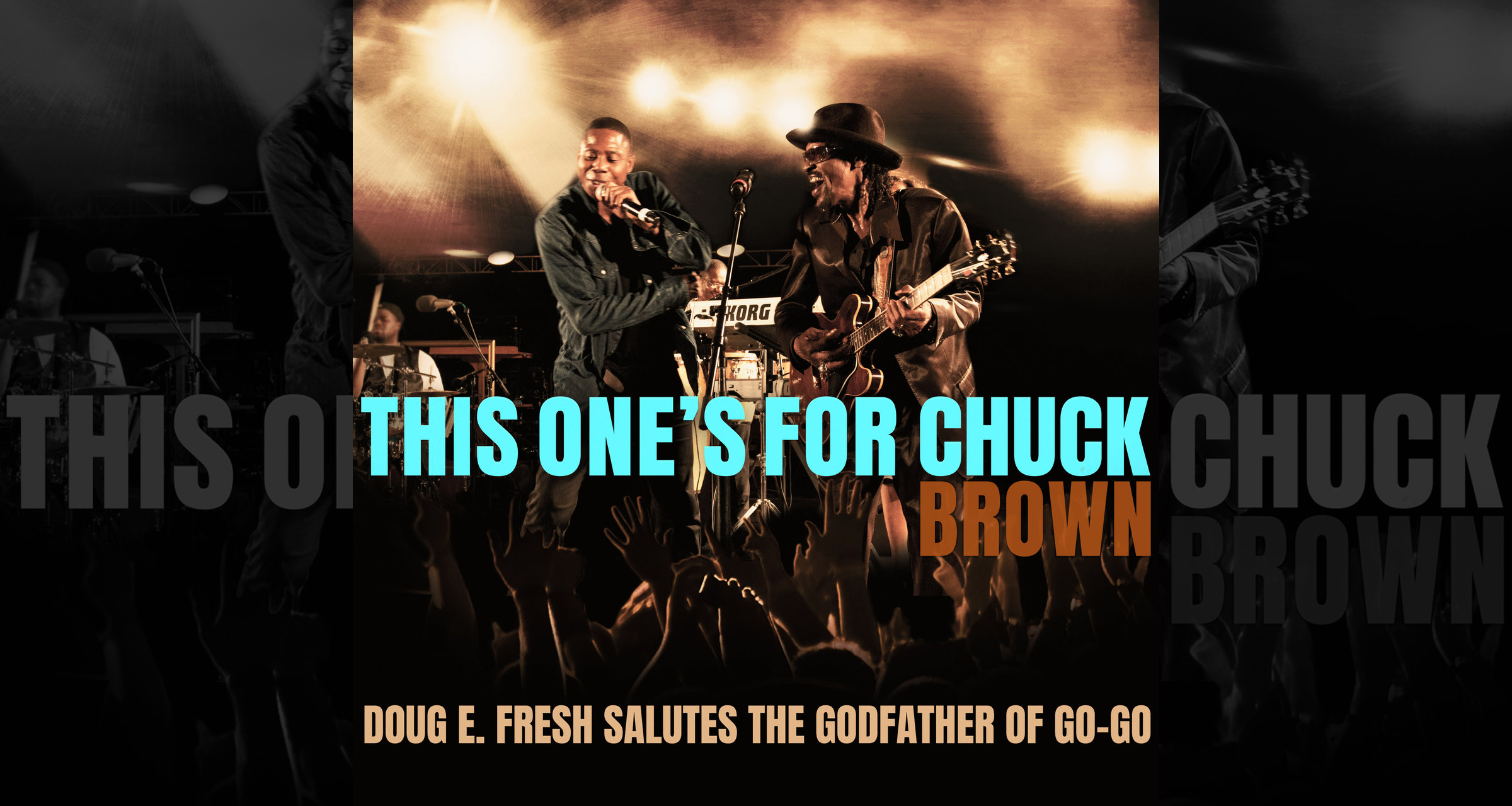 Doug E. Fresh's 'This One's for Chuck Brown' artwork