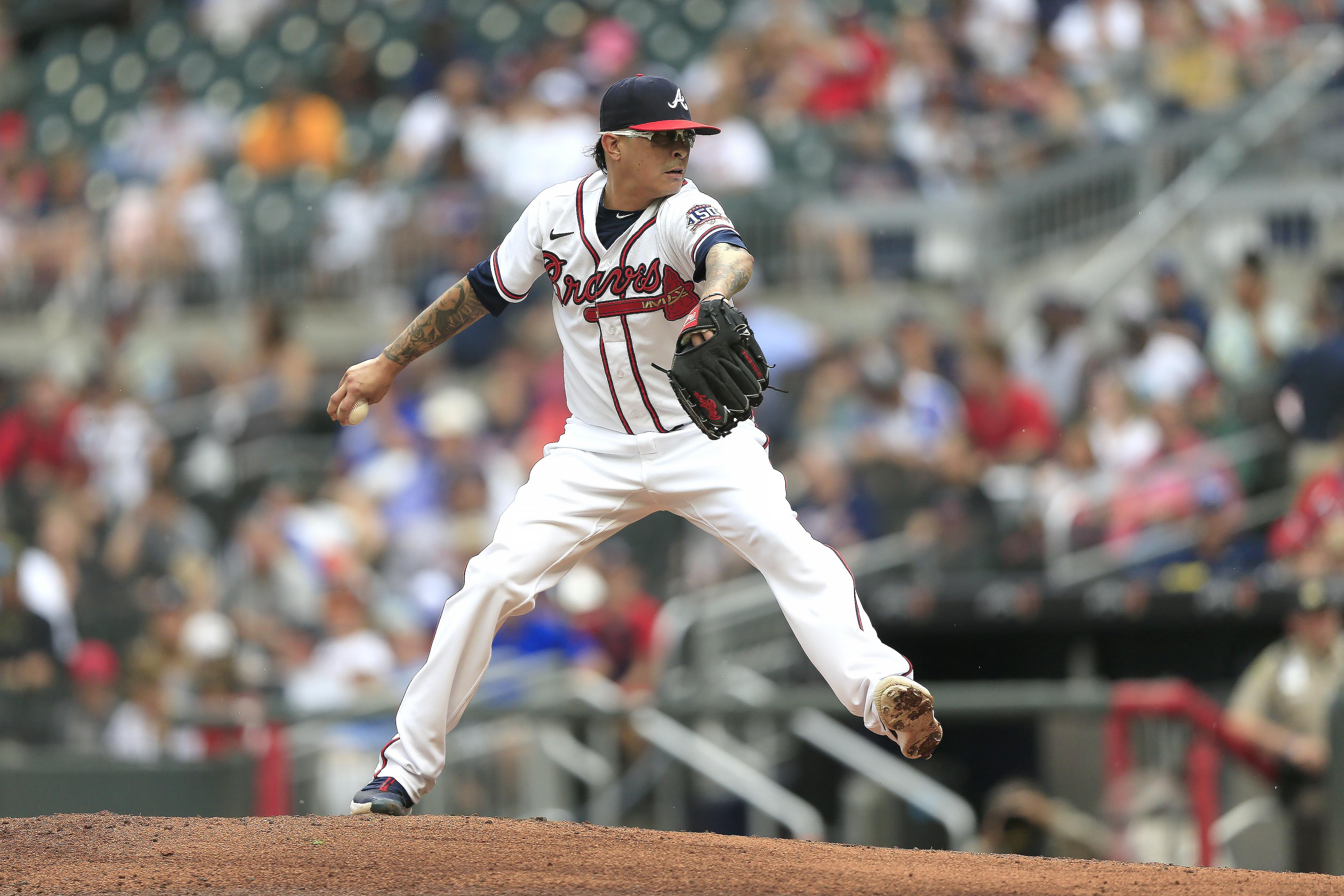 MLB: JUL 21 Padres at Braves Game 1