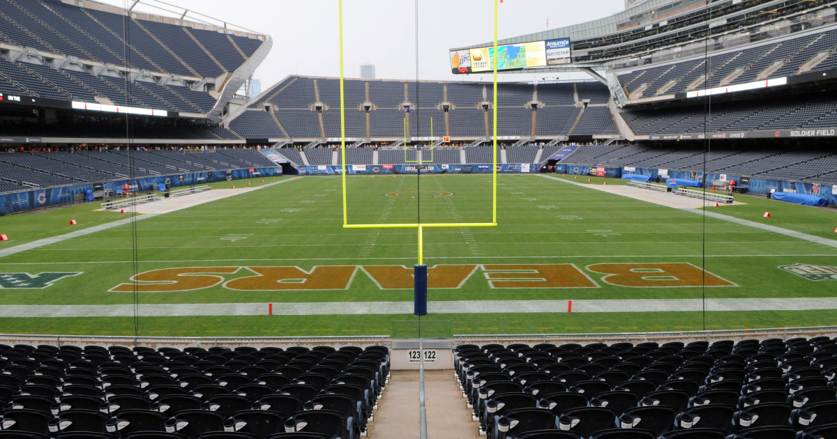 Soldier Field before the start of the Chicago Football Classic at Soldier Field Saturday, Sept. 3, 2011.