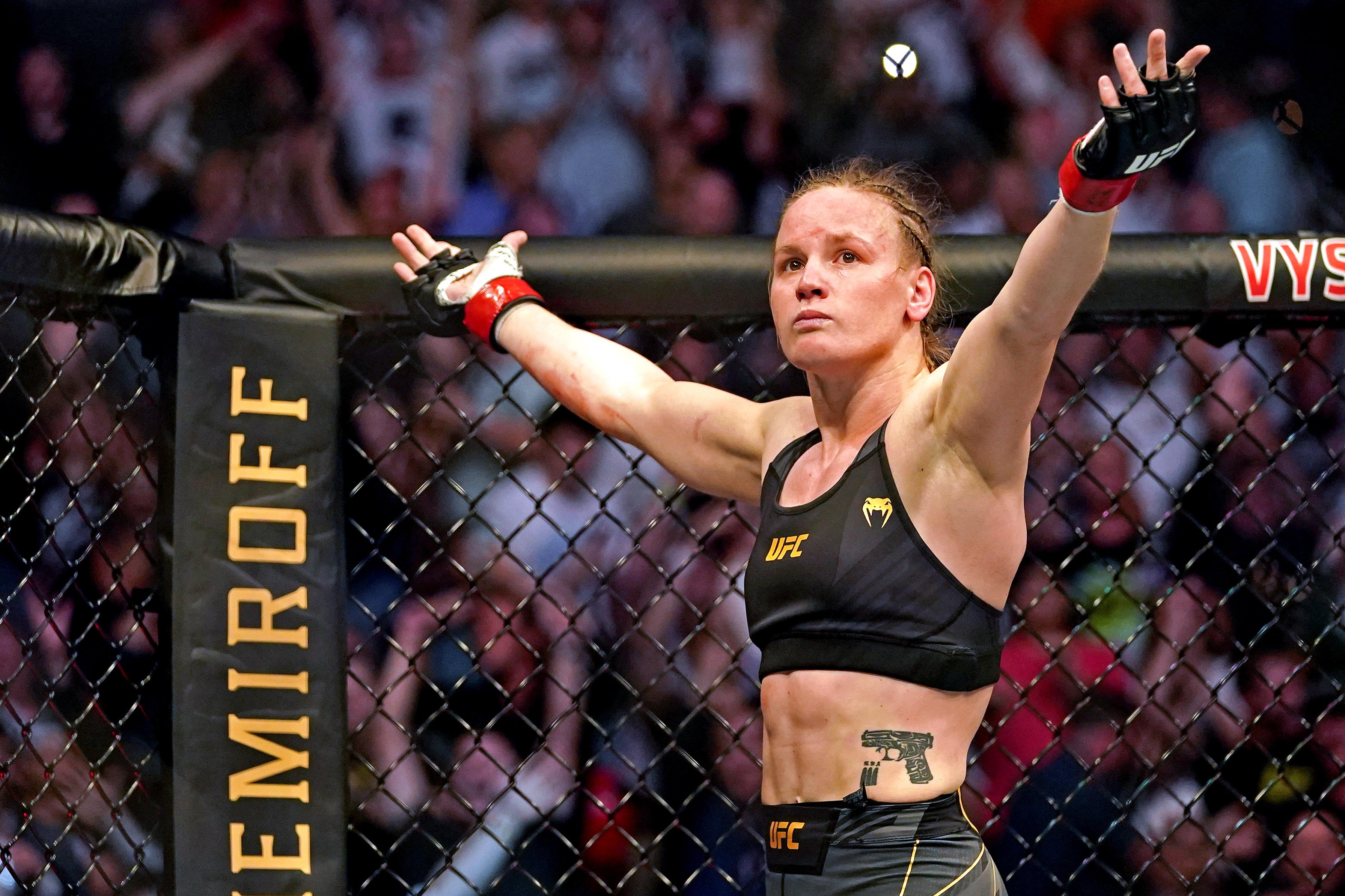 MMA: UFC 261-Shevchenko vs Andrade