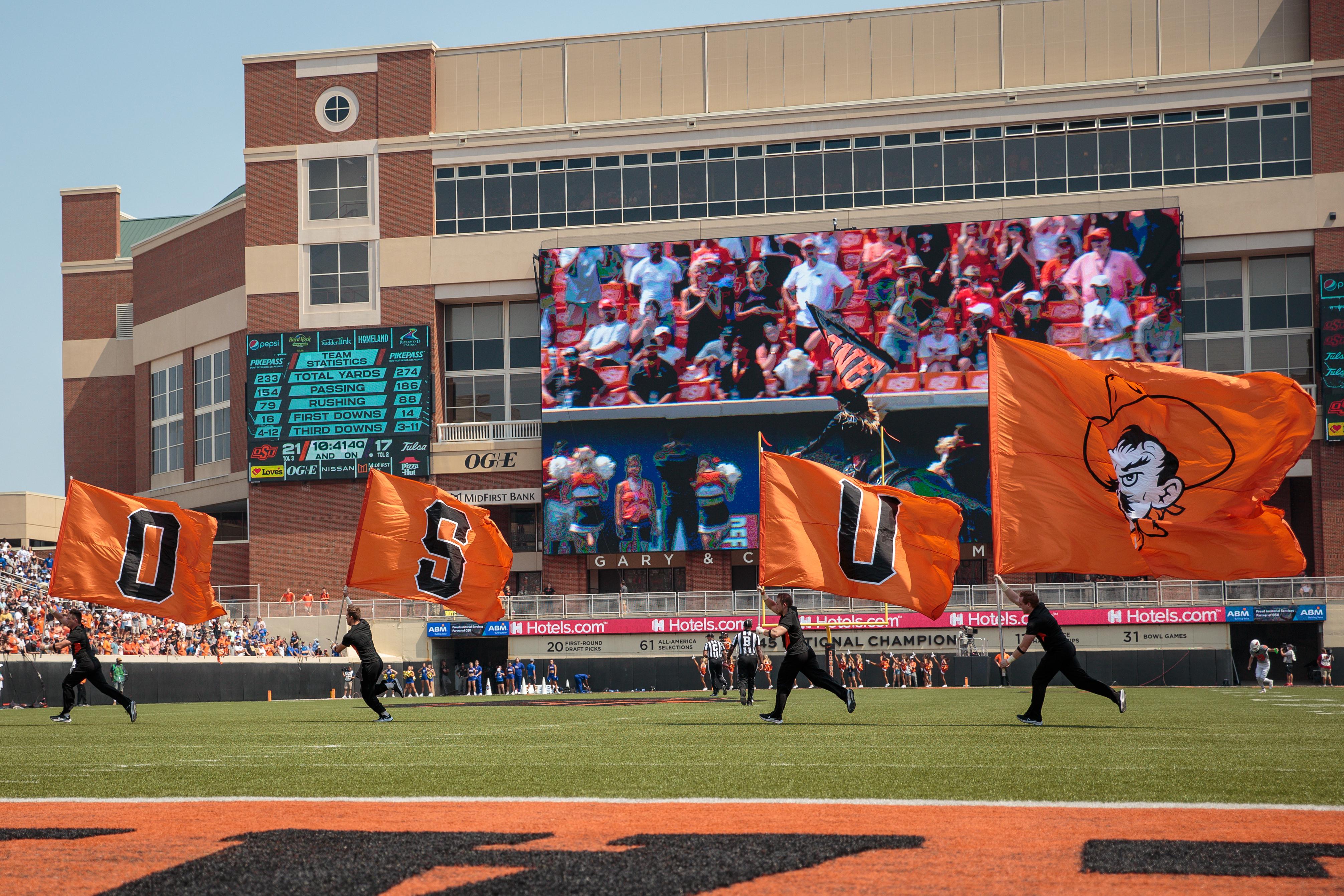 COLLEGE FOOTBALL: SEP 11 Tulsa at Oklahoma State