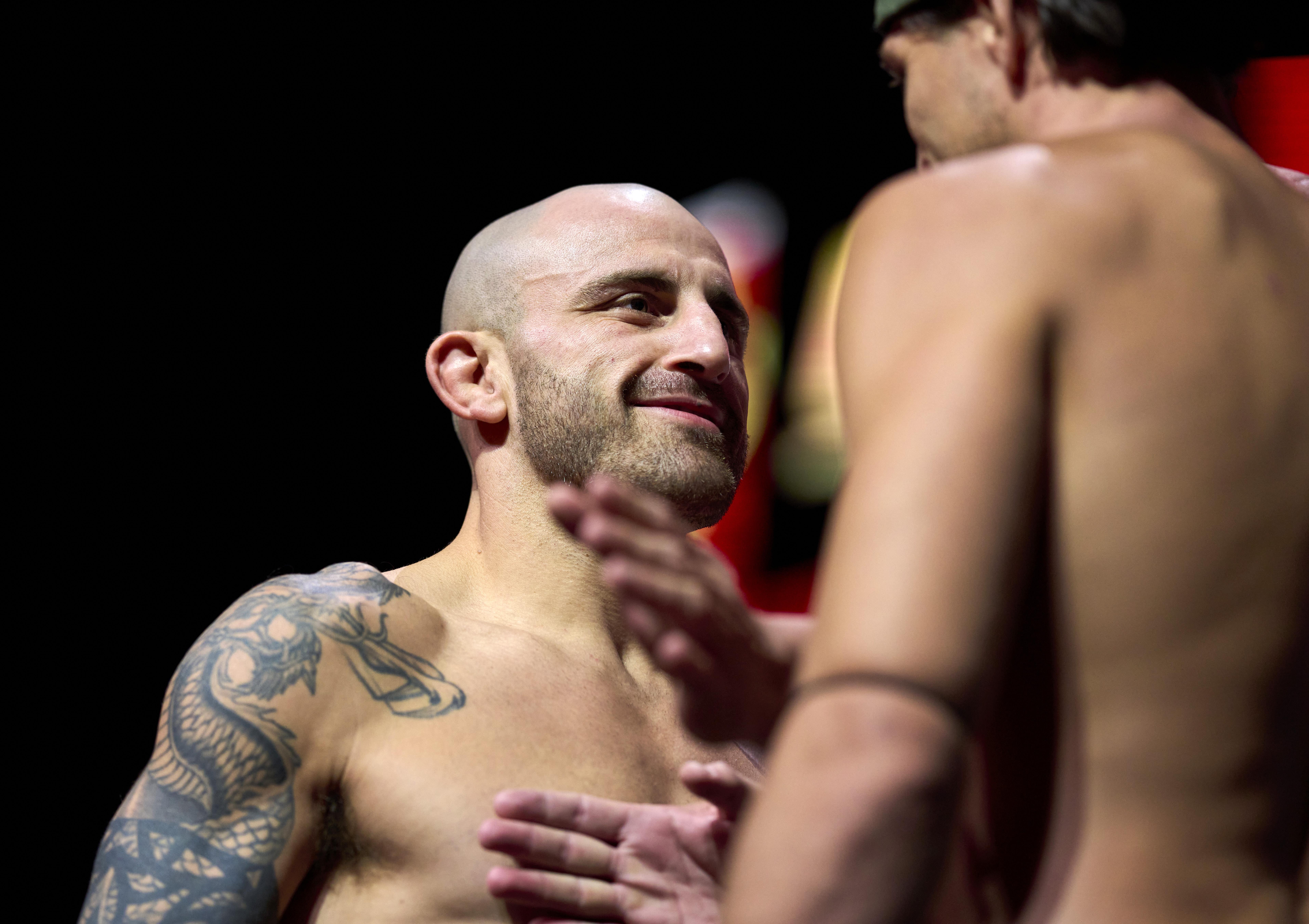 UFC 266 Weigh-in