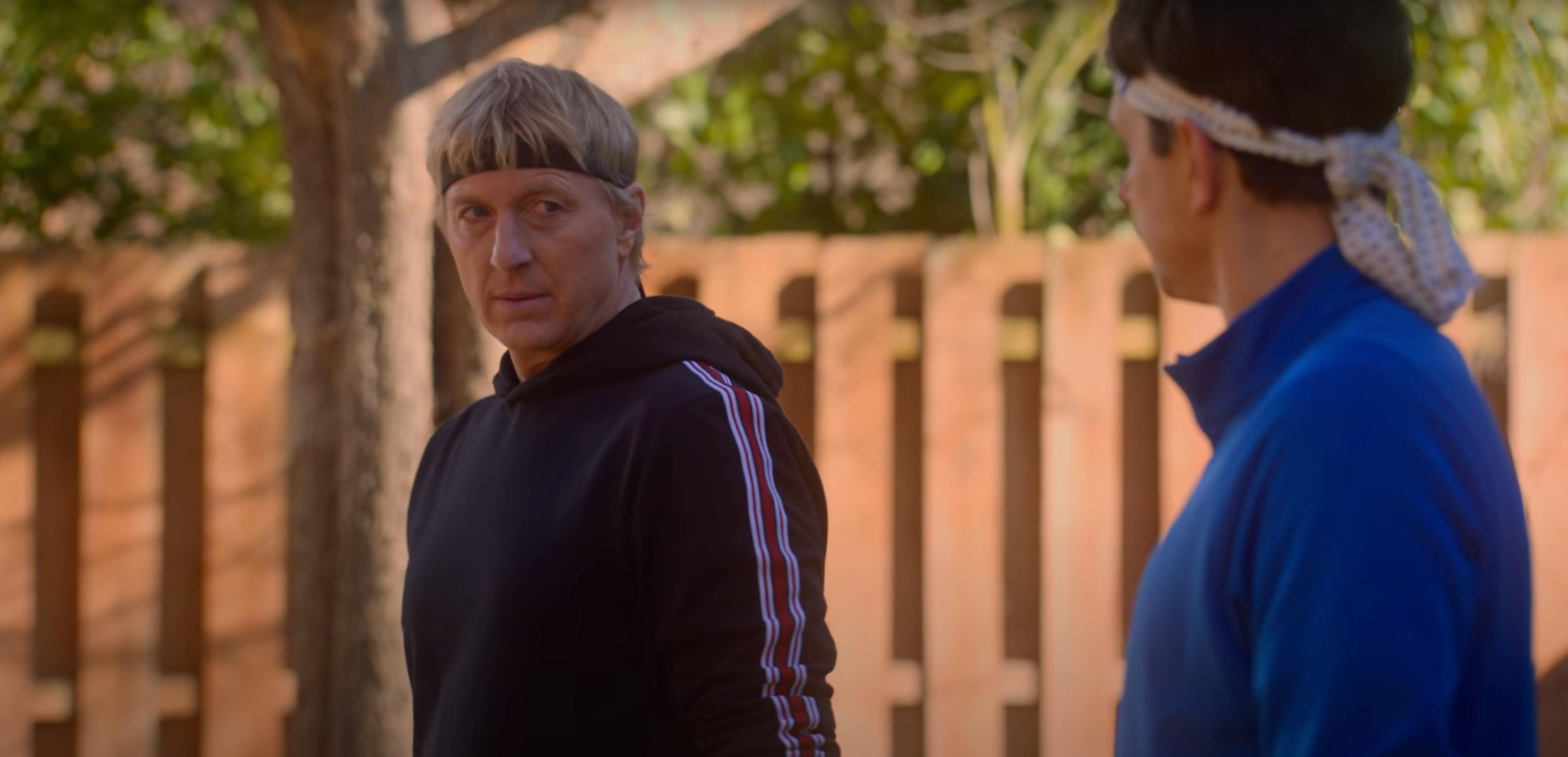 Daniel and Johnny from Netflix's Cobra Kai season 4