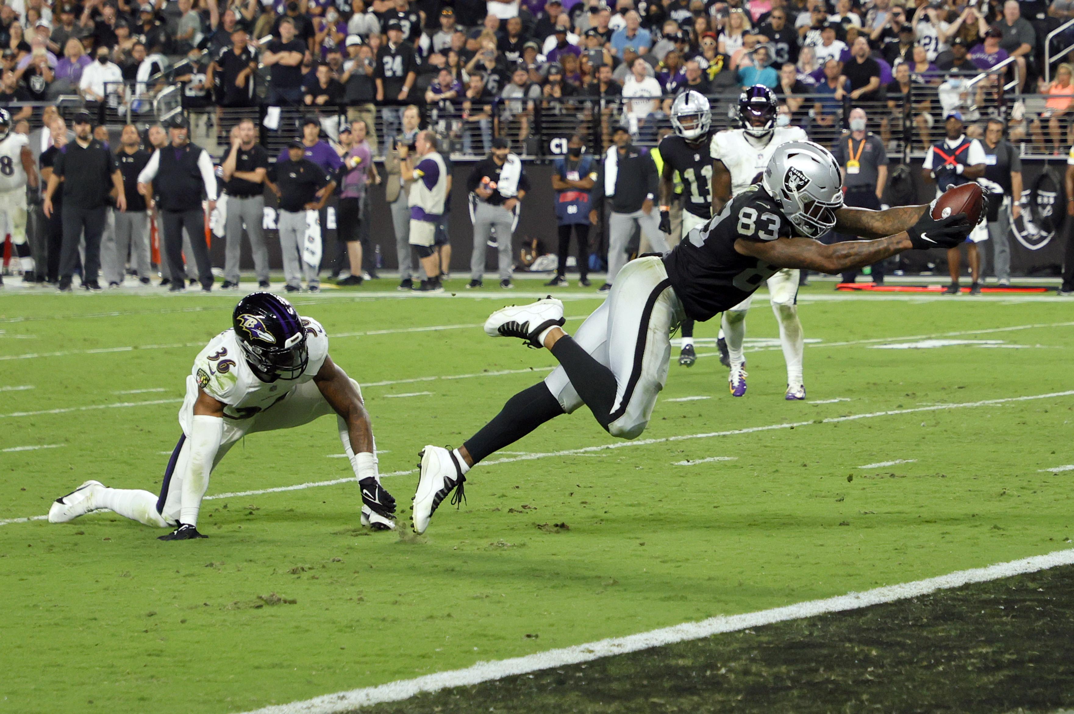Baltimore Ravens v Las Vegas Raiders