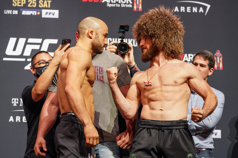 MMA: SEP 24 UFC 266 Press Conference