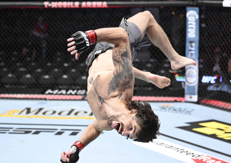Matt Semelsberger annihilated Martin Sano in just 15-seconds at UFC 266