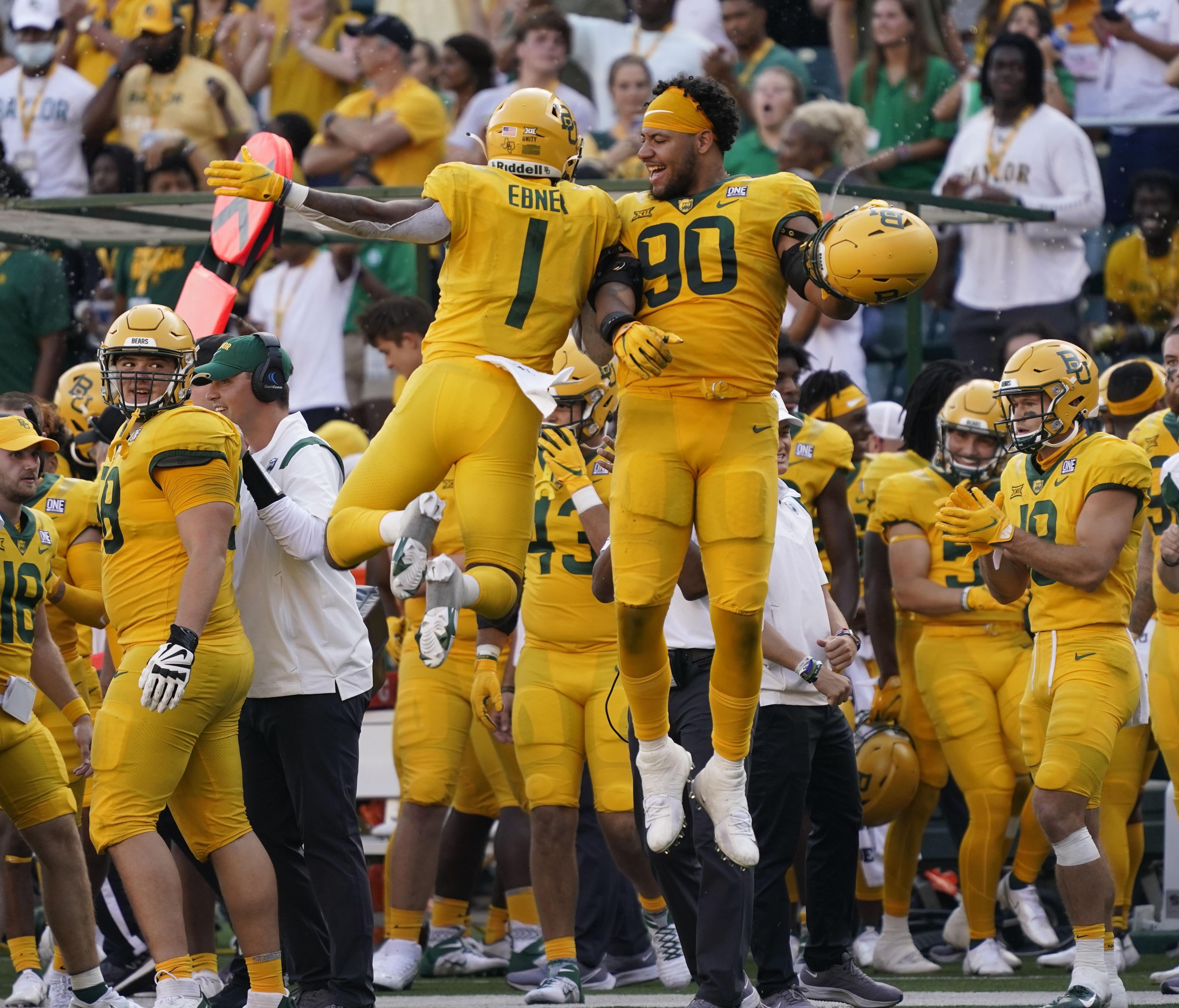 NCAA Football: Iowa State at Baylor