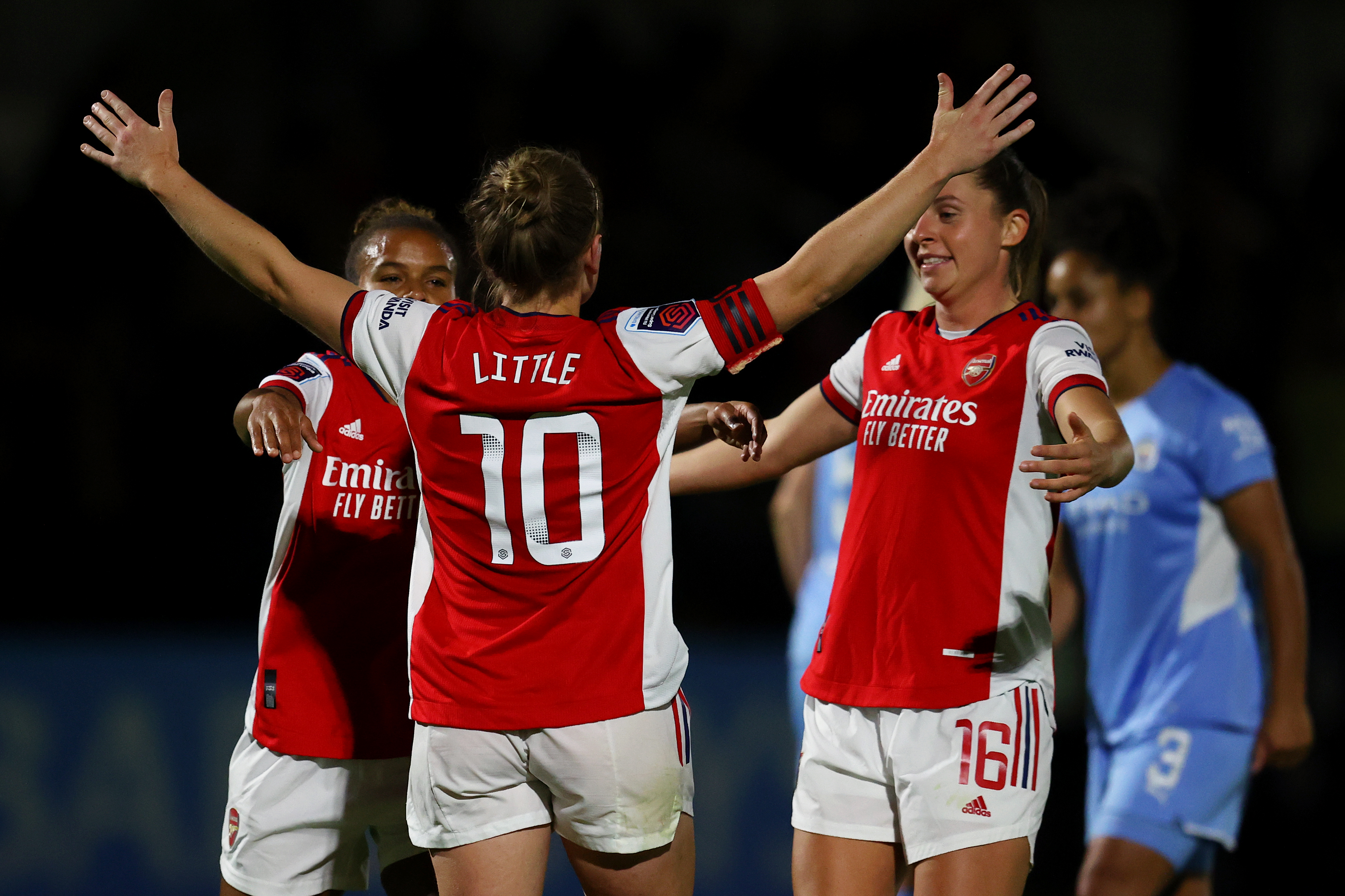 Arsenal Women v Manchester City Women - Barclays FA Women's Super League