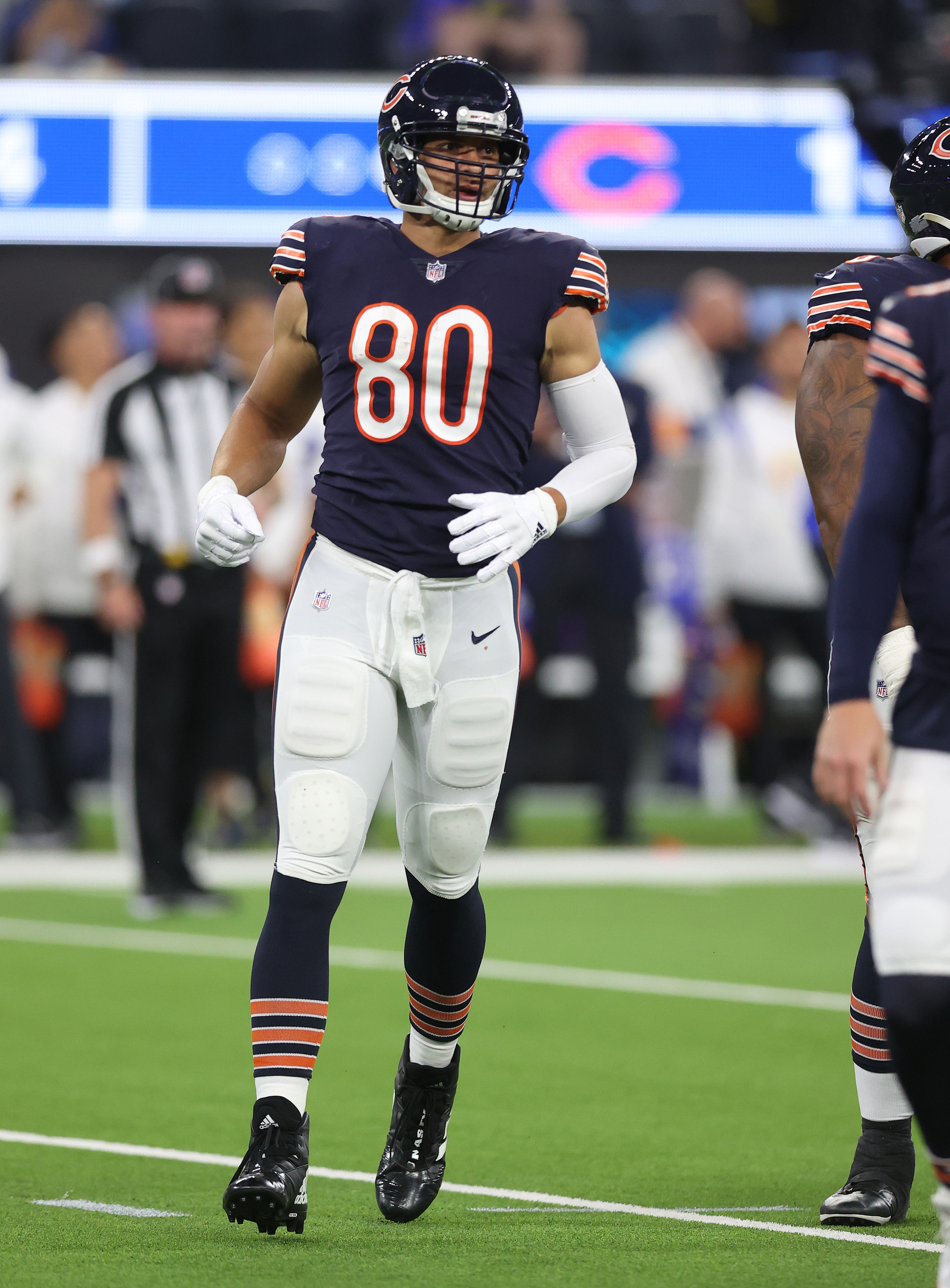 Bears tight end Jimmy Graham did not have a catch Sunday.