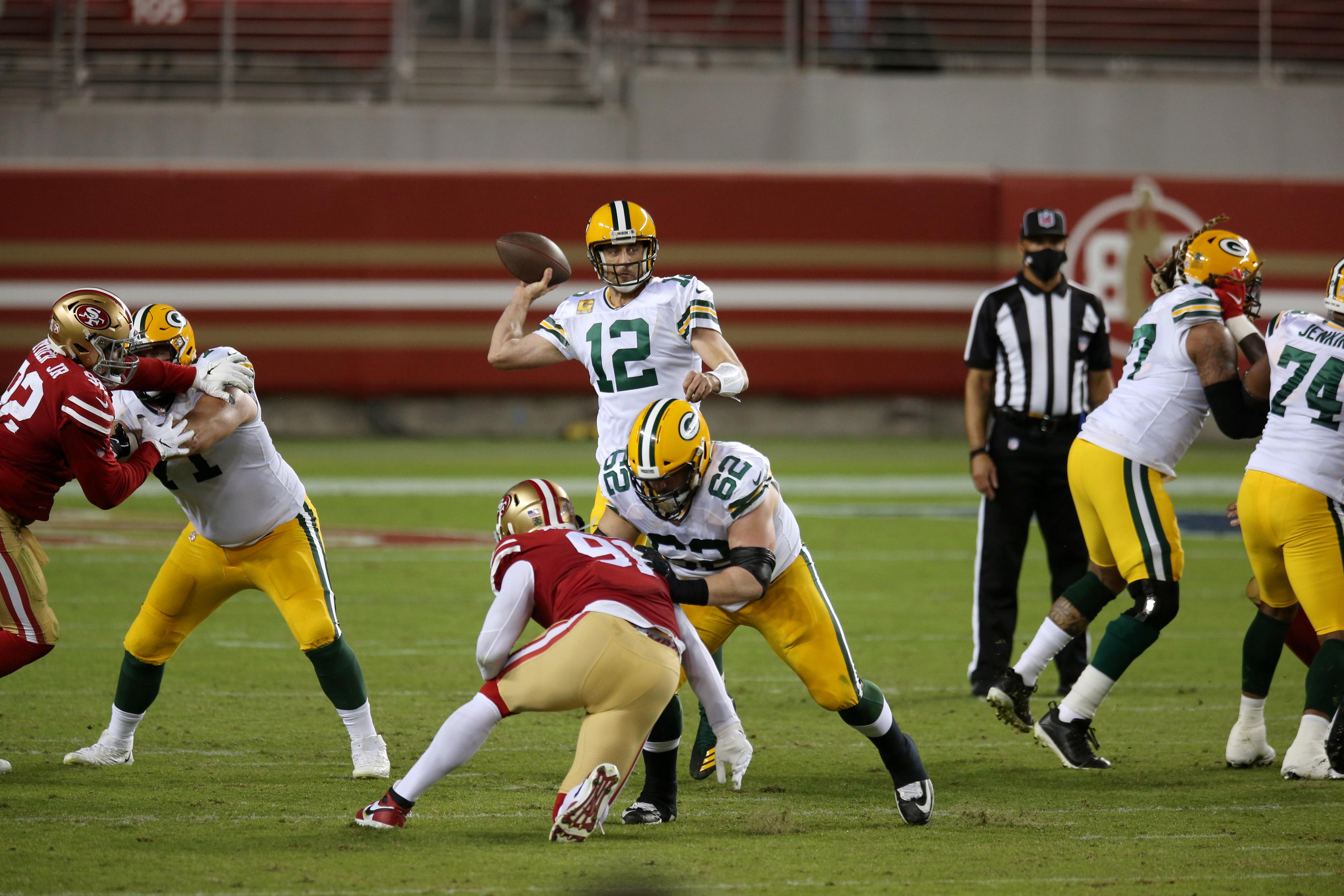 San Francisco 49ers vs Green Bay Packers