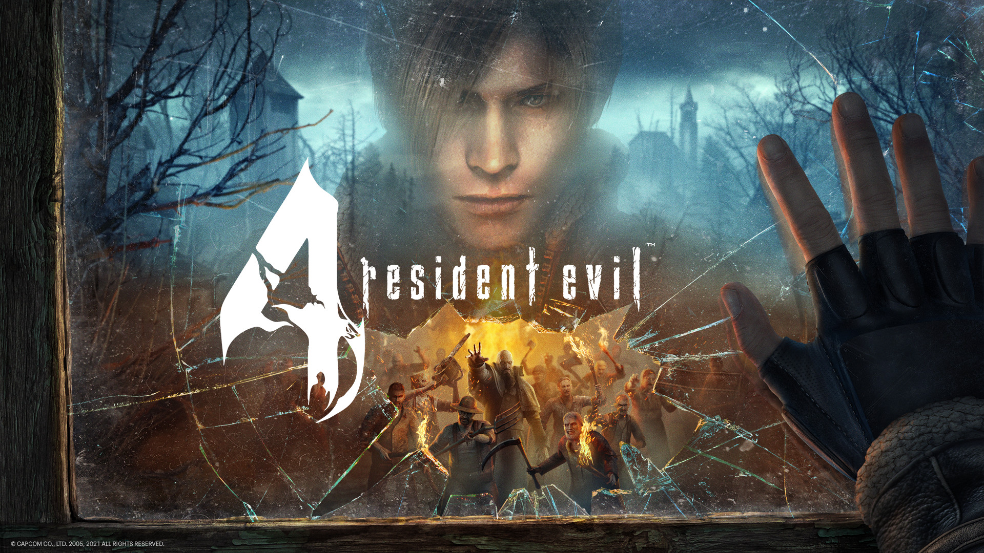 Resident Evil 4 VR Key Art