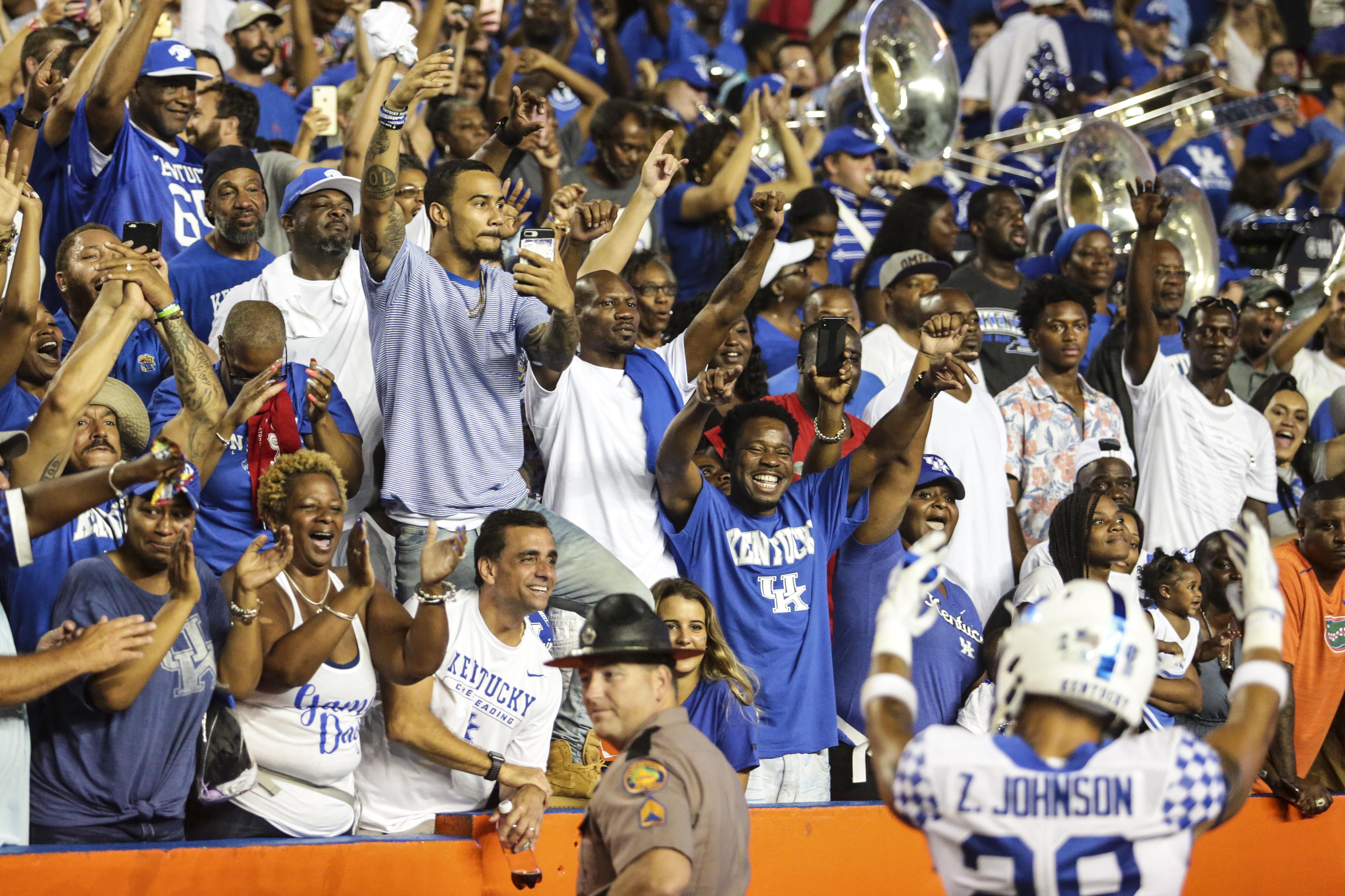 COLLEGE FOOTBALL: SEP 08 Kentucky at Florida