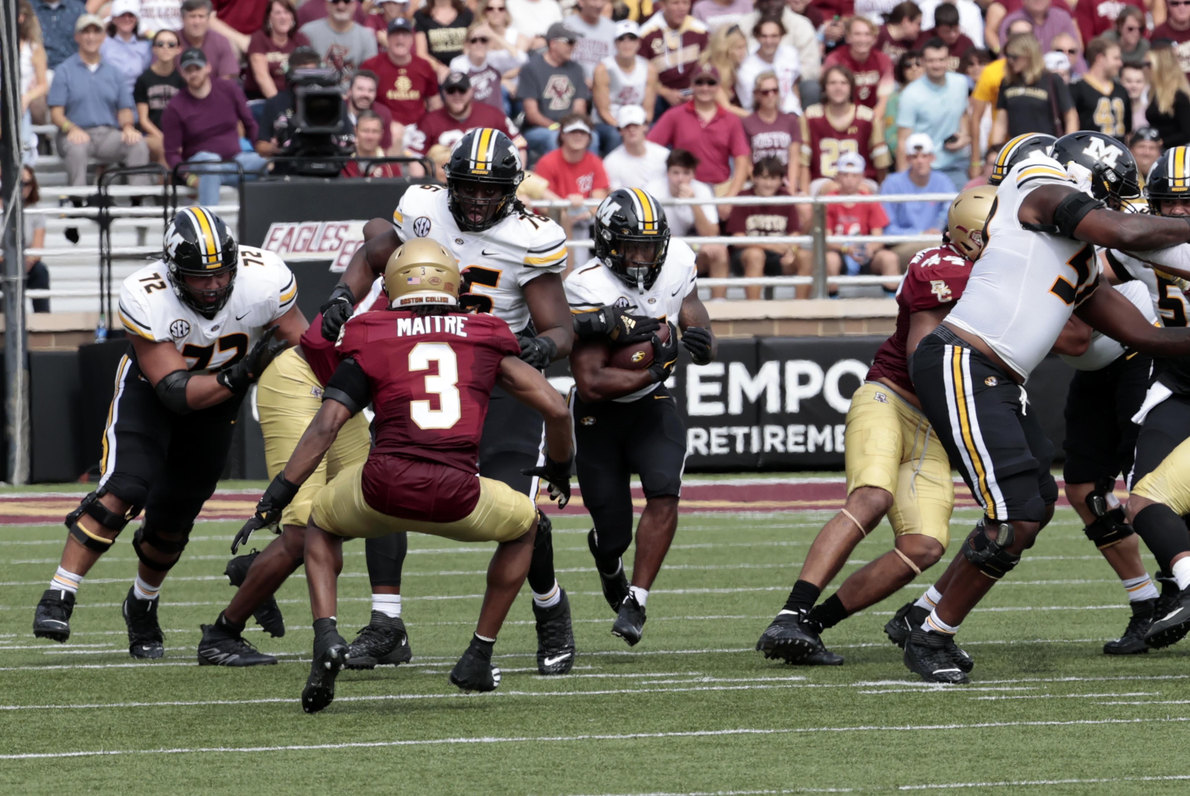 COLLEGE FOOTBALL: SEP 25 Missouri at Boston College