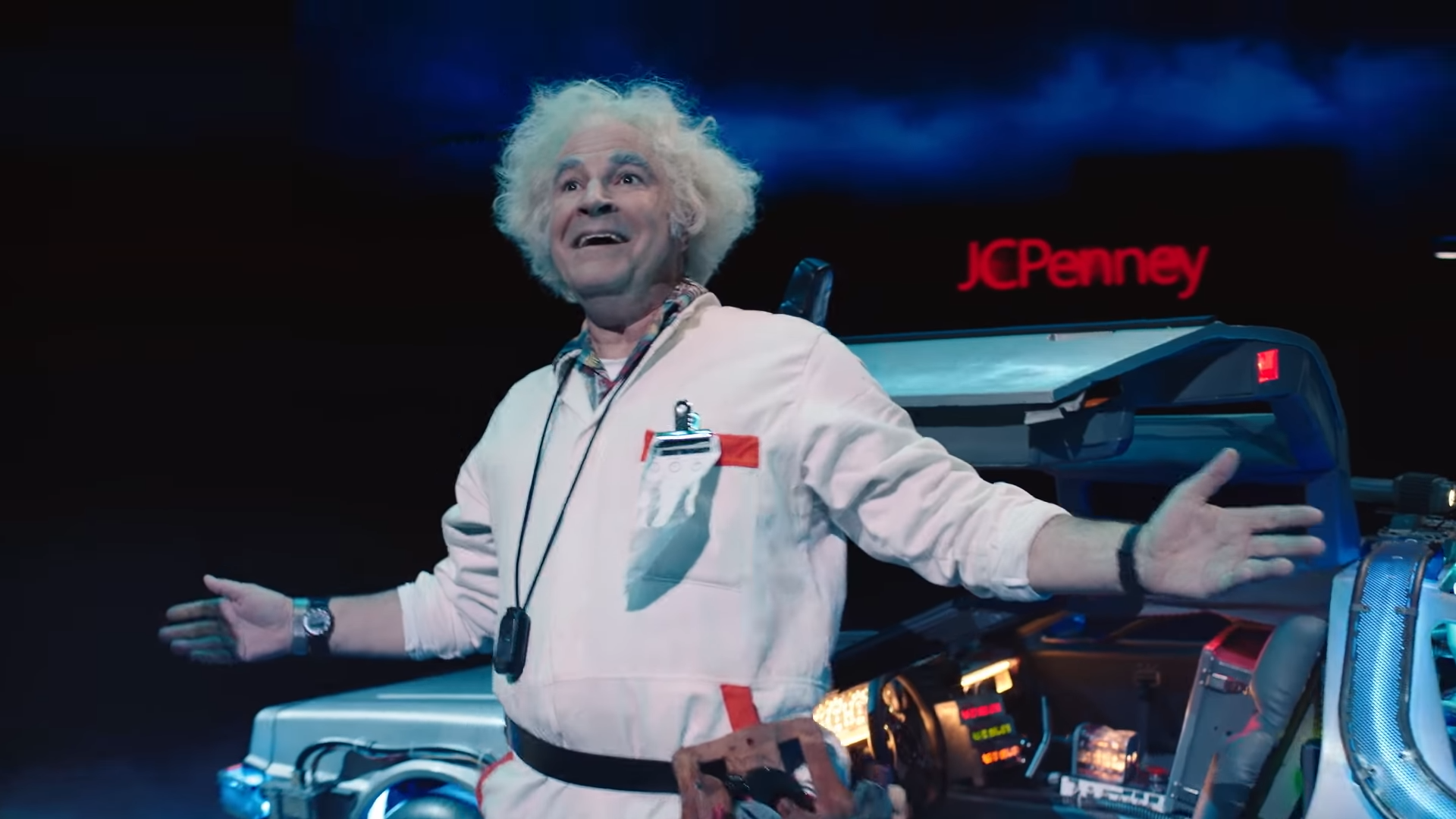 Roger Bart as Doc Brown in The Back to the Future Musical