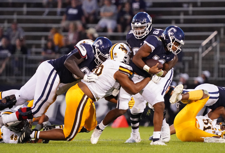 NCAA Football: Wyoming at Connecticut