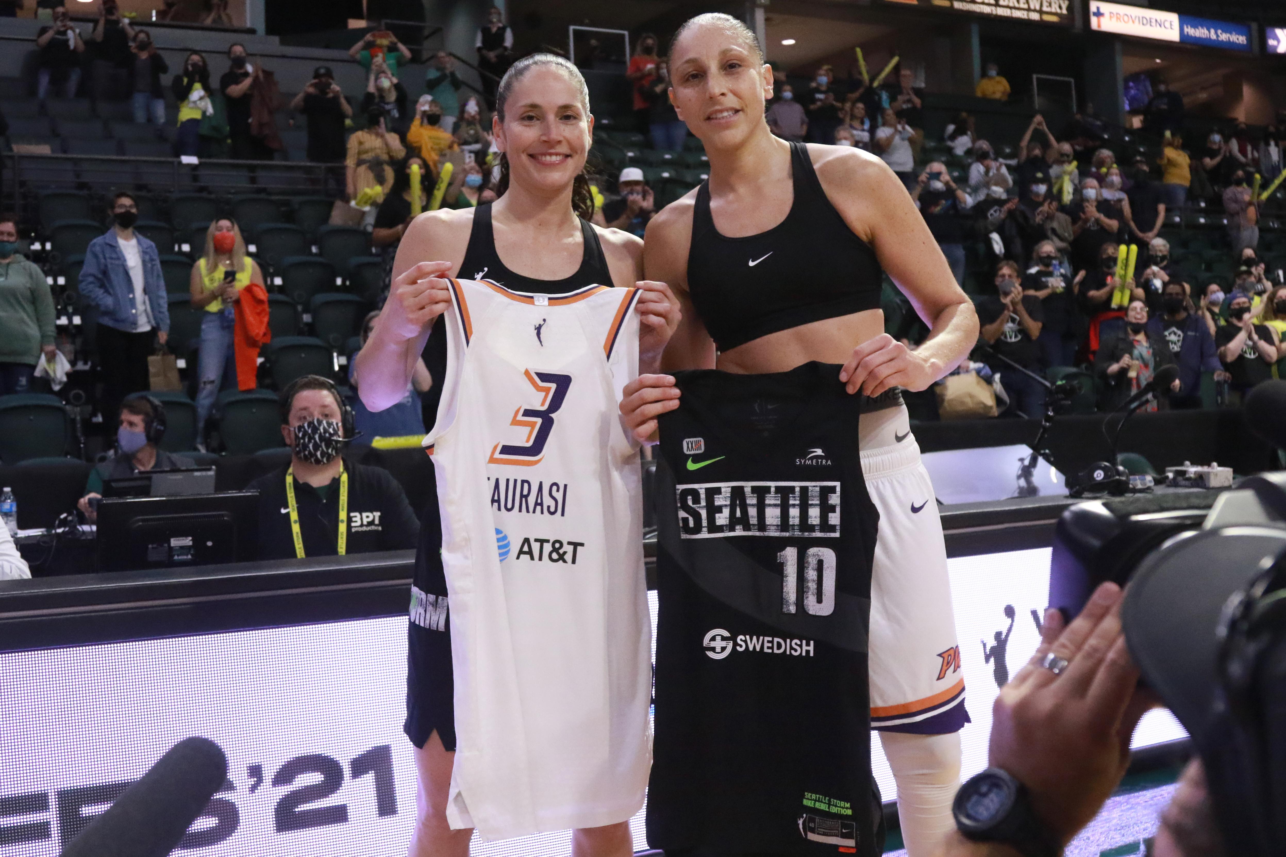 2021 WNBA Playoffs - Phoenix Mercury v Seattle Storm