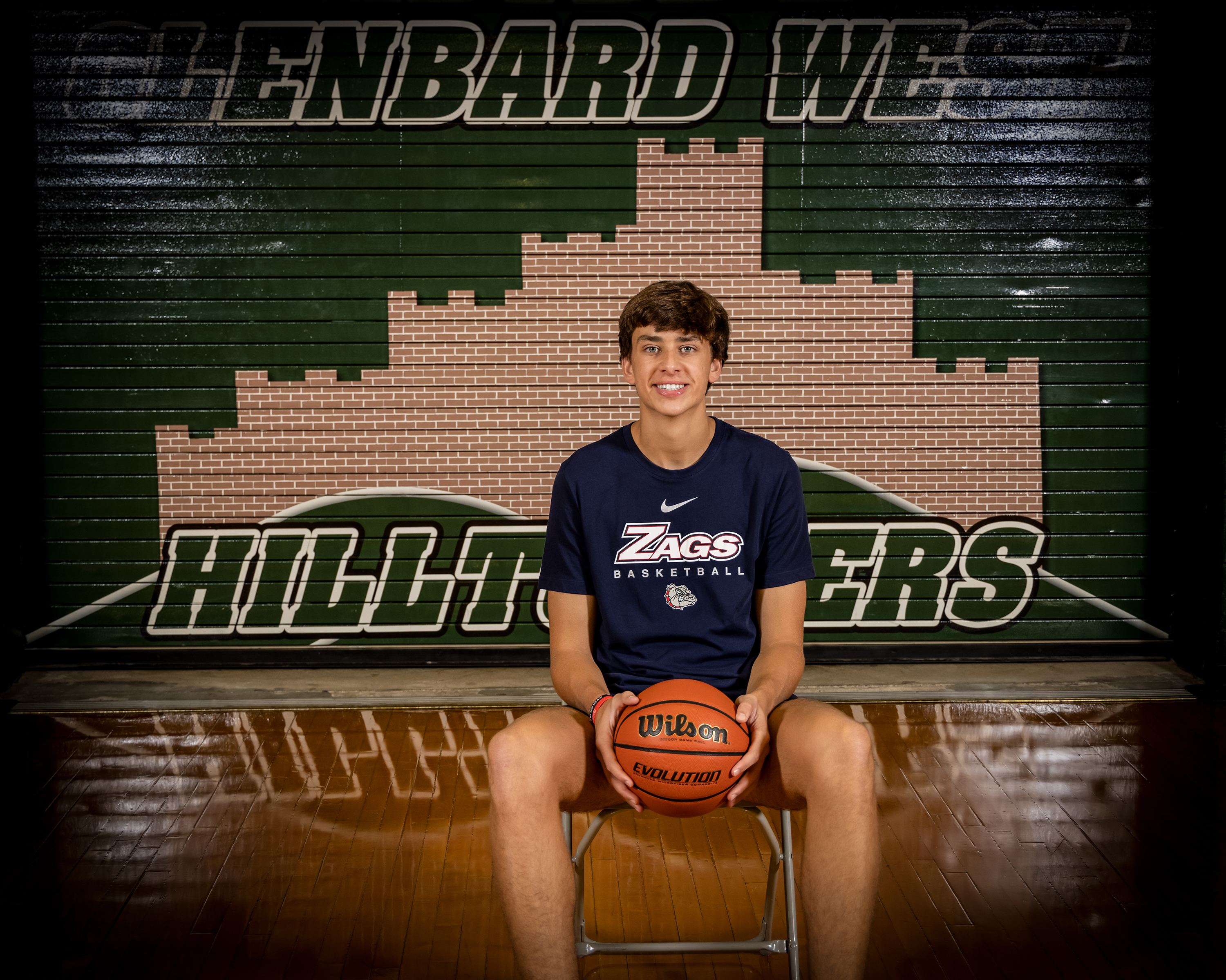 Braden Huff after committing to Gonzaga on Monday.