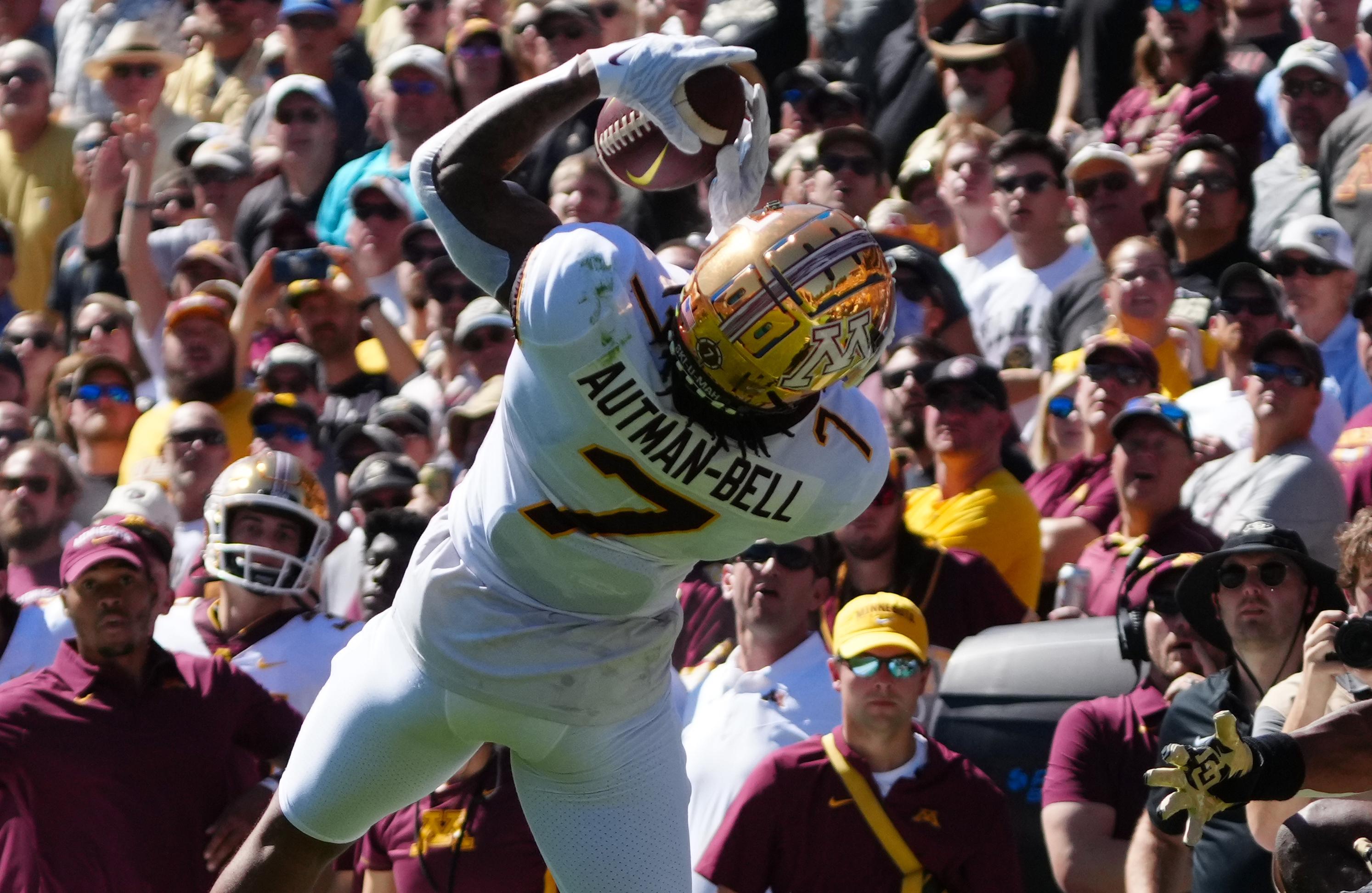 NCAA Football: Minnesota at Colorado