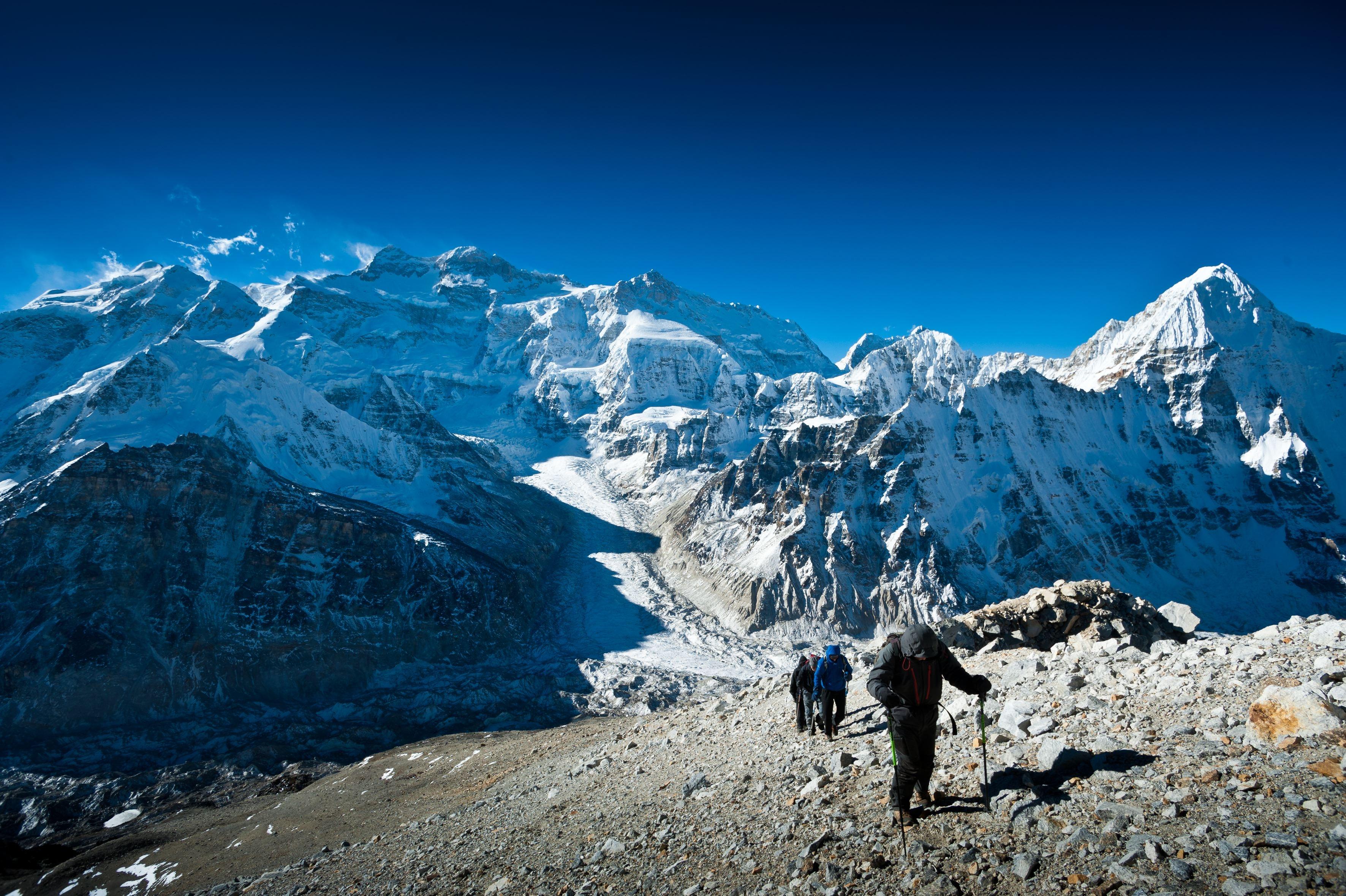 La caravane du Krangch, Nepal