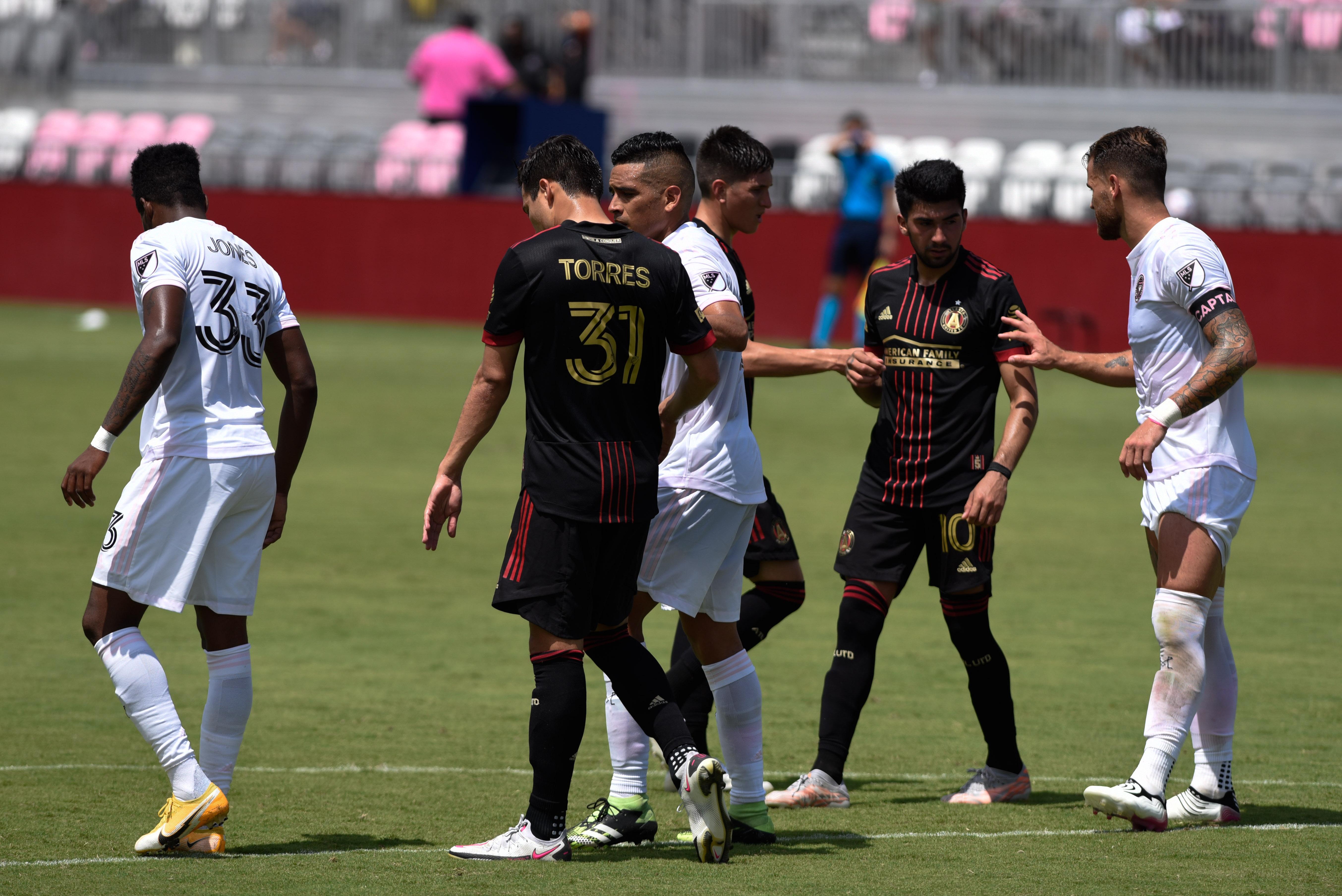 SOCCER: MAY 09 MLS - Atlanta United FC at Inter Miami CF